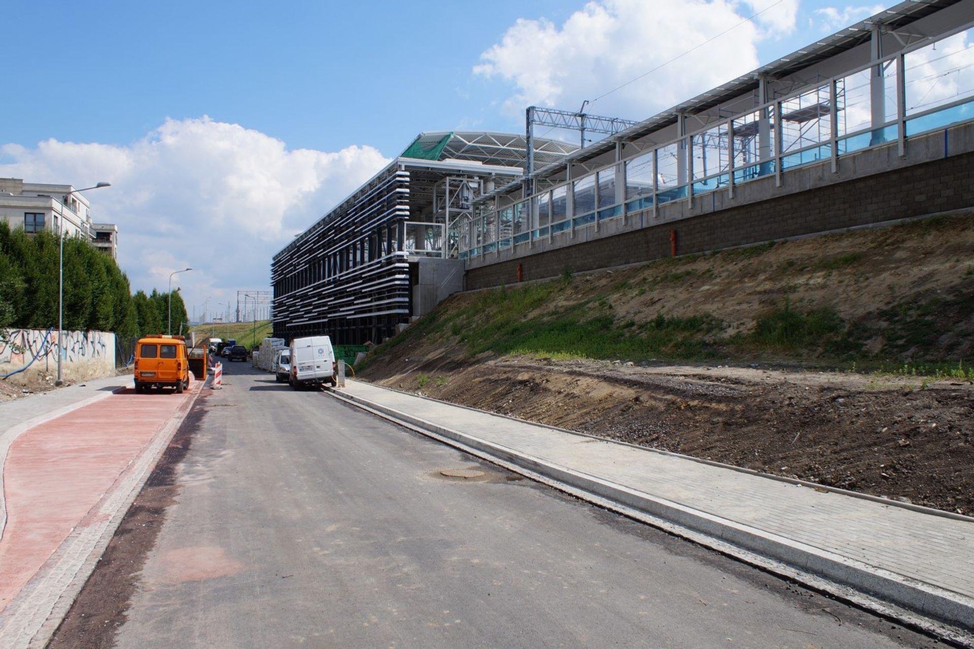 [Kraków] Stacja kolejowa Kraków-Zabłocie będzie szersza