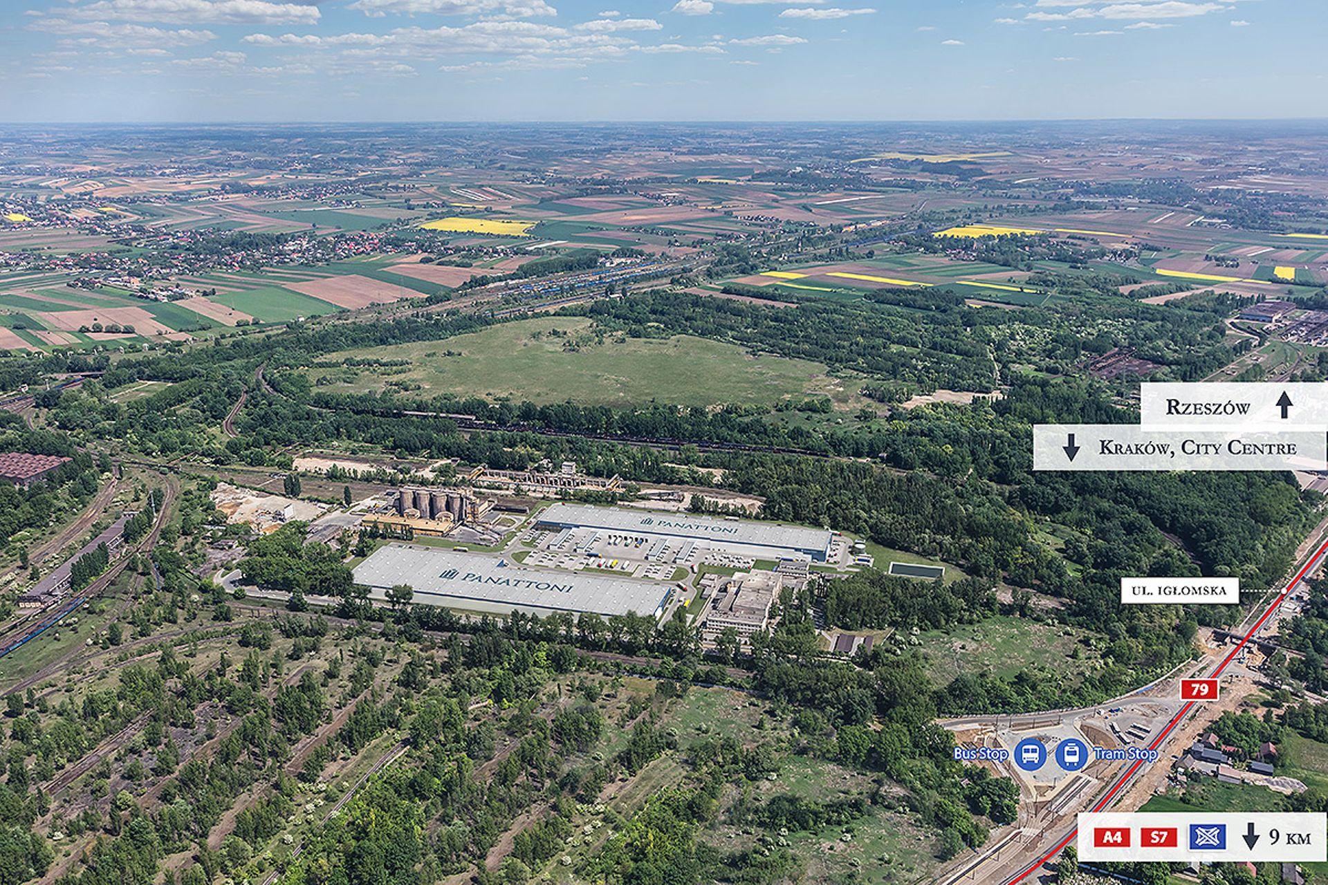 W Krakowie Panattoni wybuduje nowy park magazynowo-dystrybucyjny City Logistics Kraków I