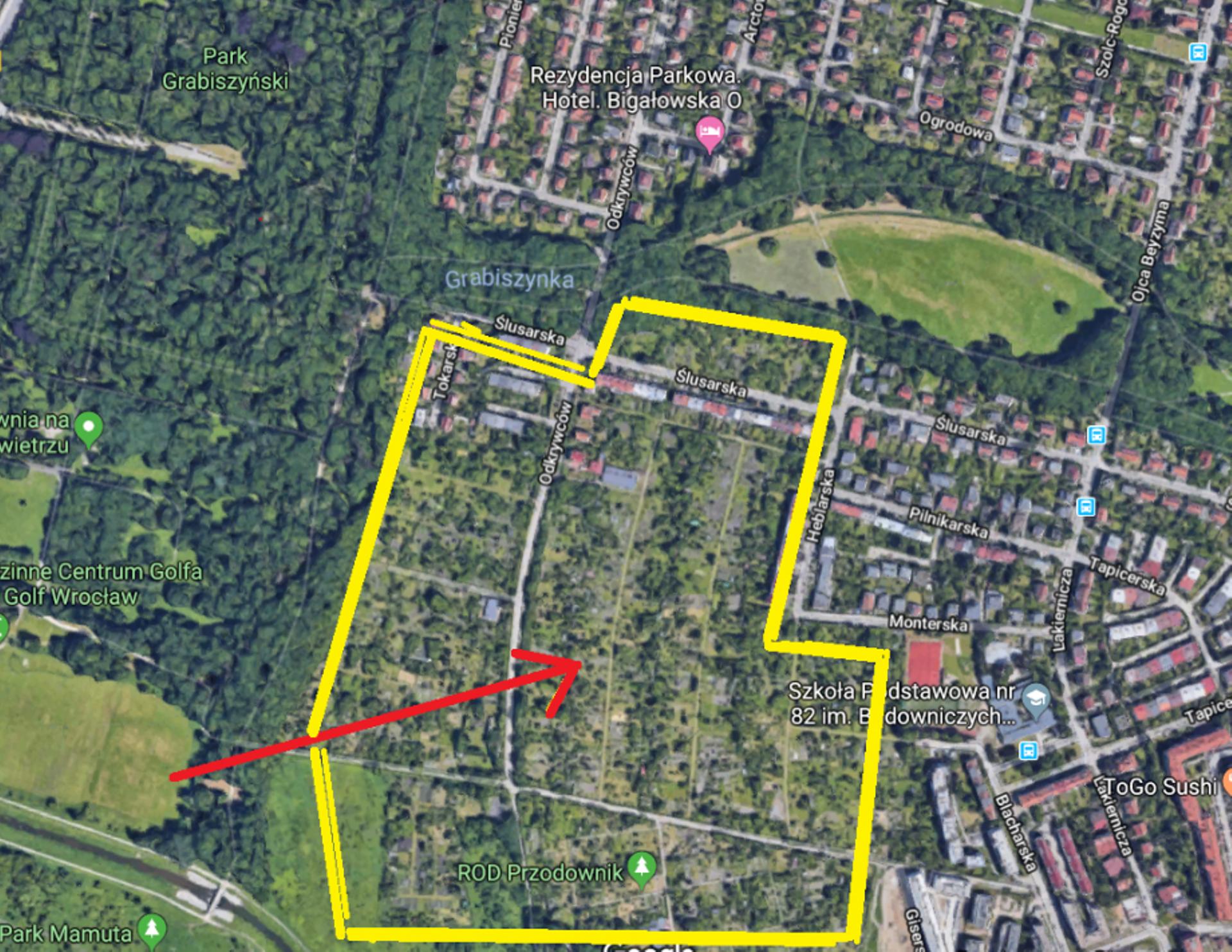 Wrocław: Mieszkańcy nie chcą zabudowy ogródków przy parku Grabiszyńskim. Oczekują zmiany planu miejscowego
