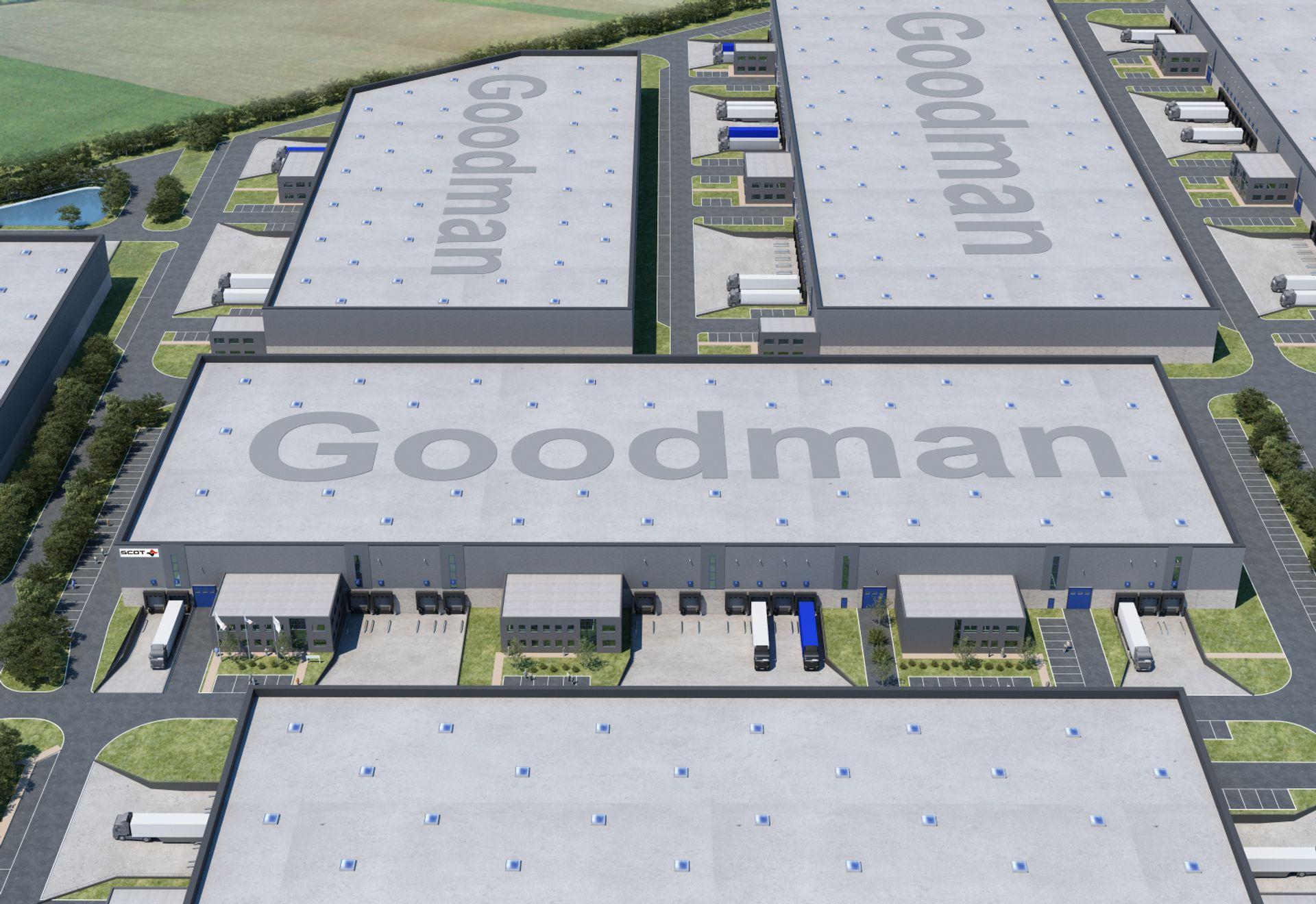 [Kraków] Centrum logistyczne od Goodmana