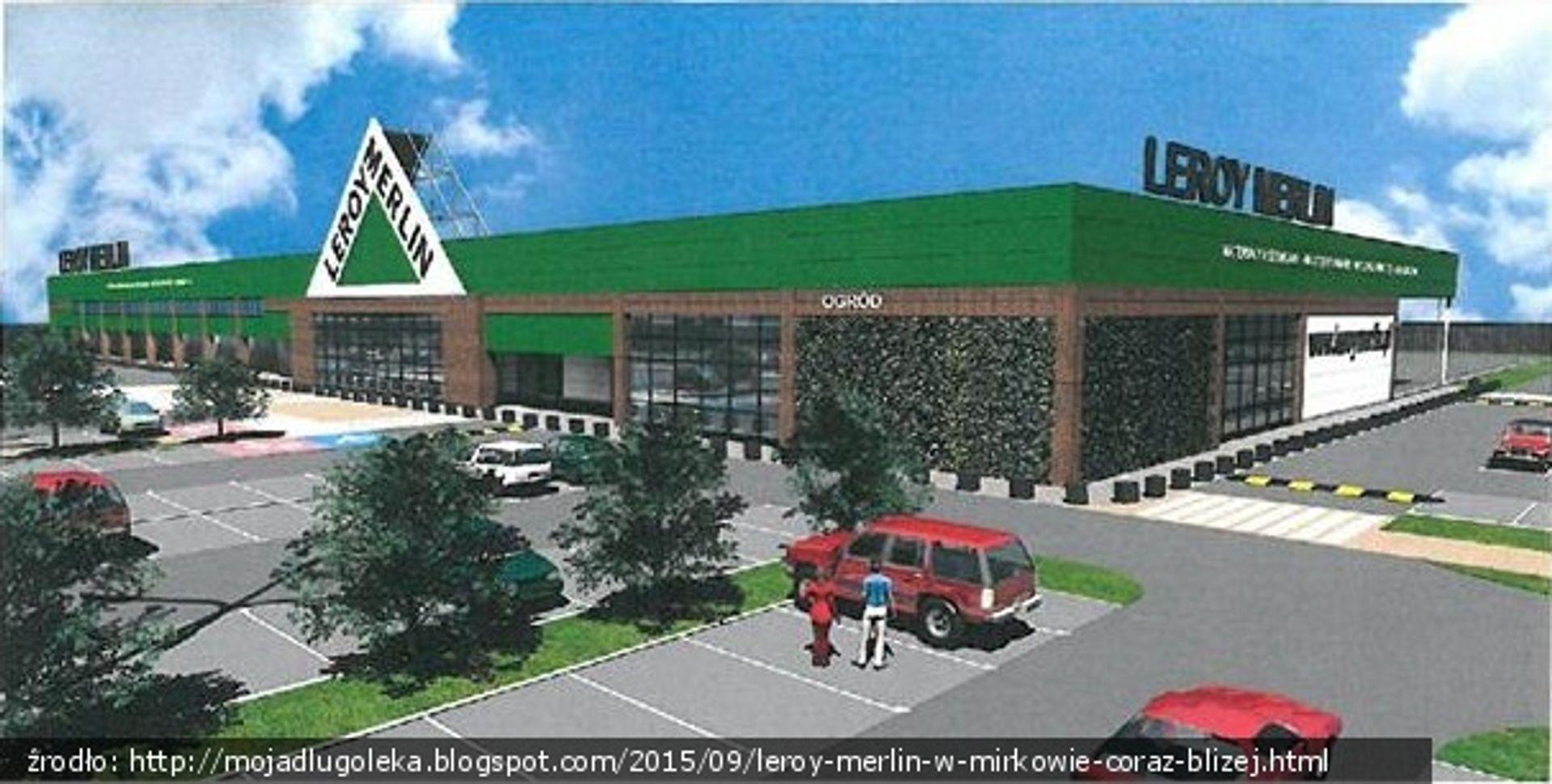 [Aglomeracja Wrocławska] W Mirkowie powstaje gigamarket Leroy Merlin