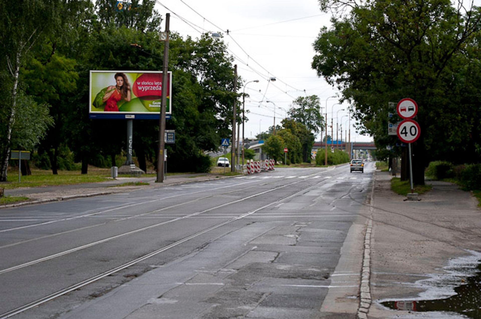 [Wrocław] Jedna z ulica na wschodzie miasta będzie nieprzejezdna