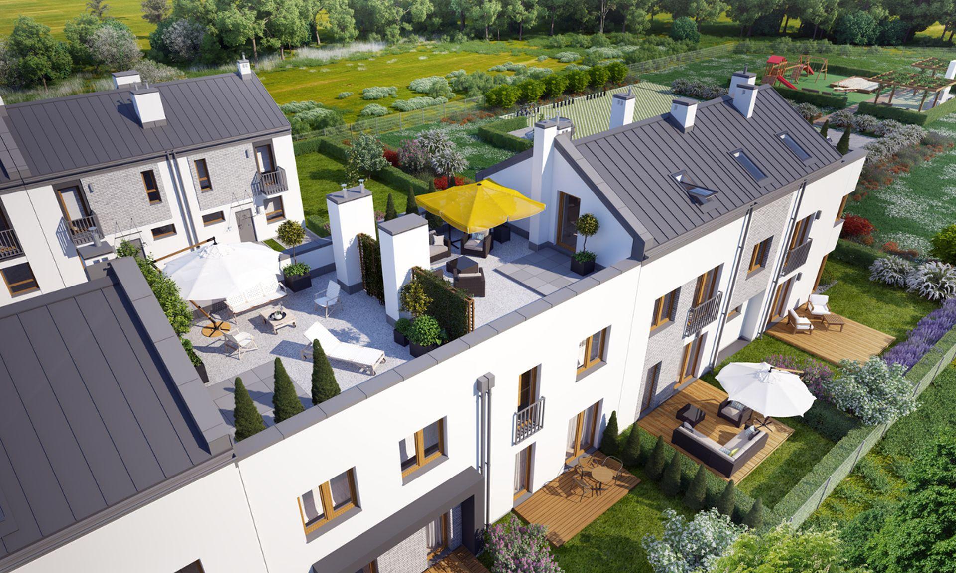 Warszawa: Jeziorowa Park – Novisa Development stawia kilkadziesiąt domów w Wawrze