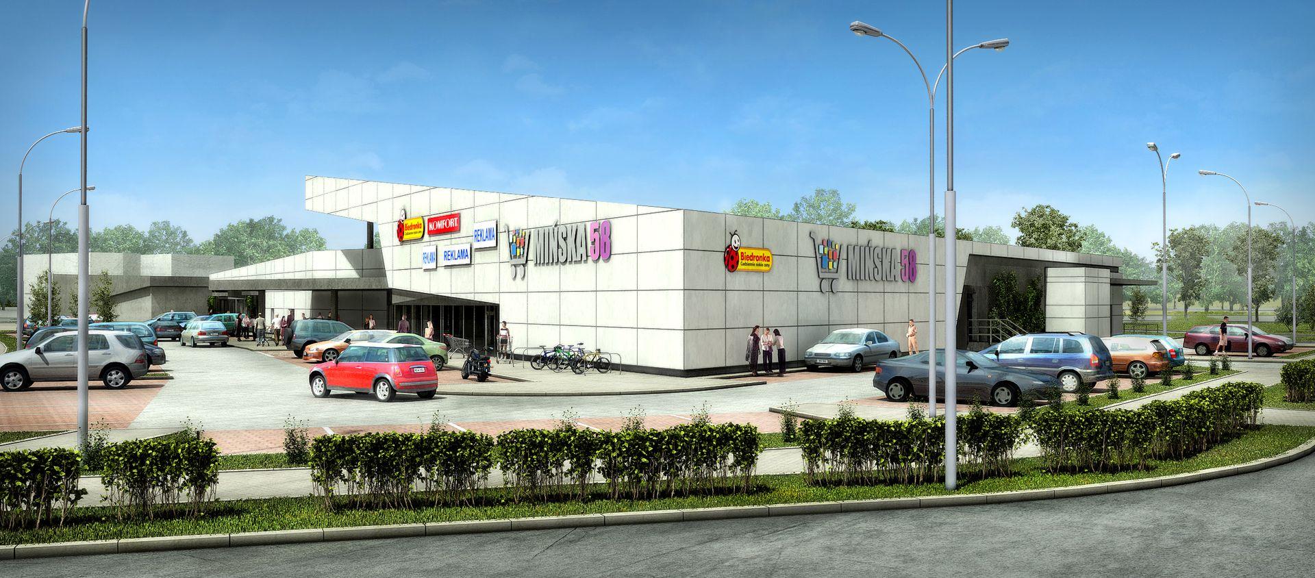 Wrocław: Mińska 58 – Womak buduje centrum handlowe na Muchoborze Wielkim
