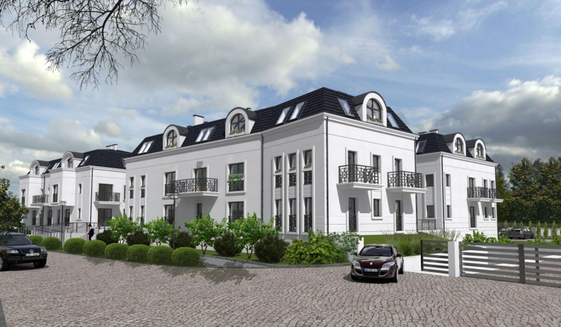 [Wrocław] Nowa inwestycja na Brochowie. Staną tam cztery budynki [WIZUALIZACJE]