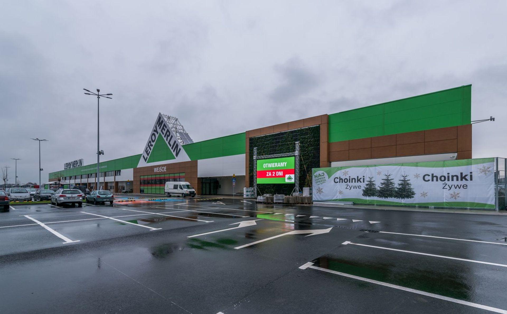 [Aglomeracja Wrocławska] Gigamarket Leroy Merlin w podwrocławskim Mirkowie otwarty