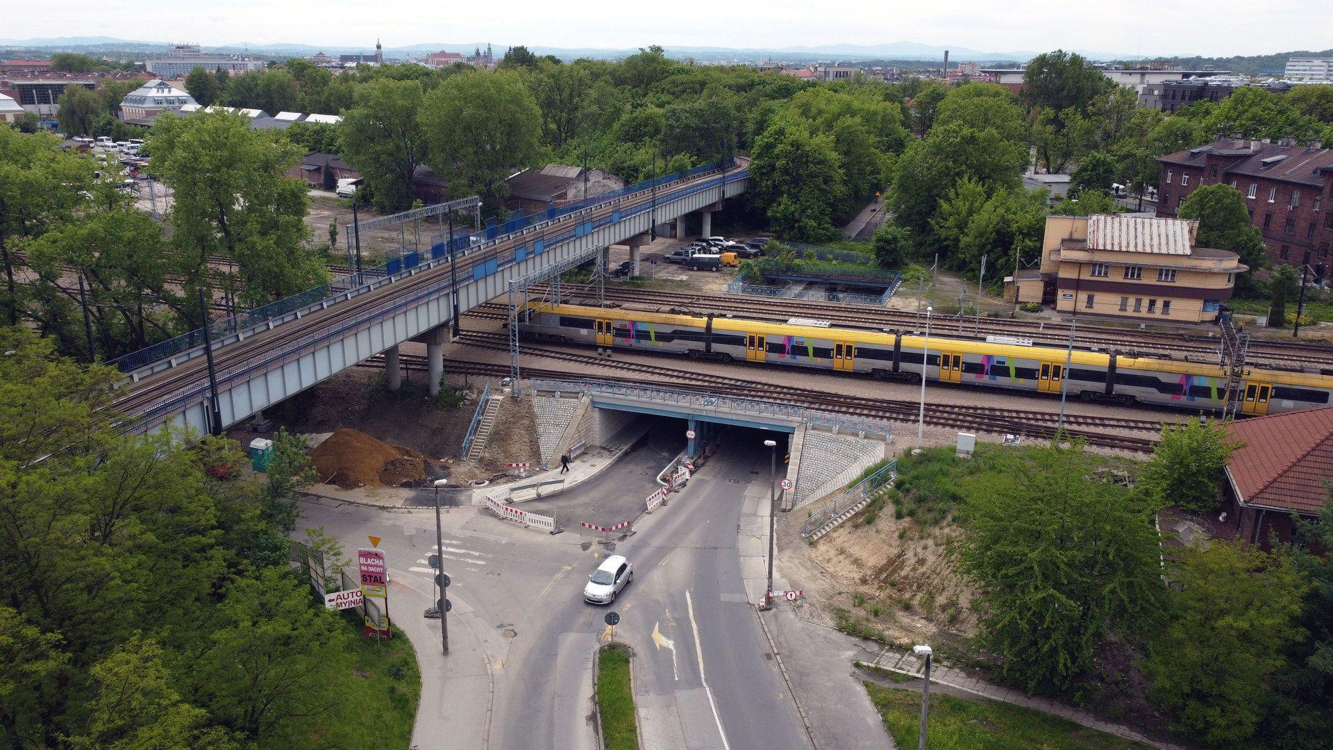 Trwa budowa kolejowej linii średnicowej w centrum Krakowa