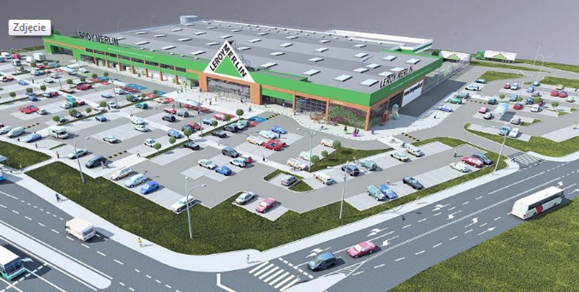 [Aglomeracja Wrocławska] Znamy datę otwarcia gigamarketu Leroy Merlin w podwrocławskim Mirkowie