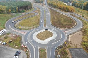 Już niebawem pojedziemy pełną szerokością trasy S3 na odcinku Lubin Północ - Polkowice Południe