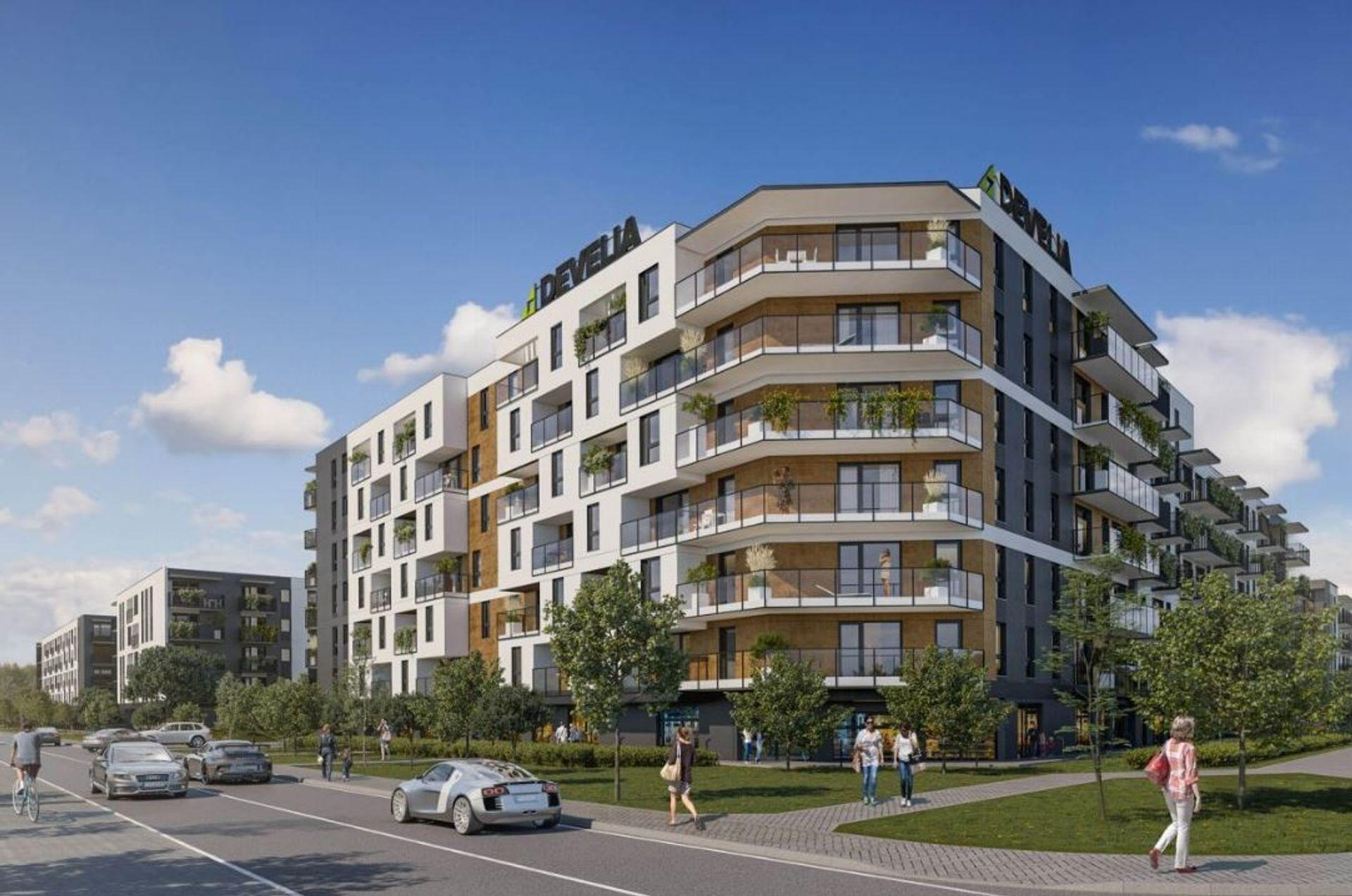 Warszawa: Develia wybuduje na Pradze Południe nowe osiedle. Powstanie około 1200 mieszkań