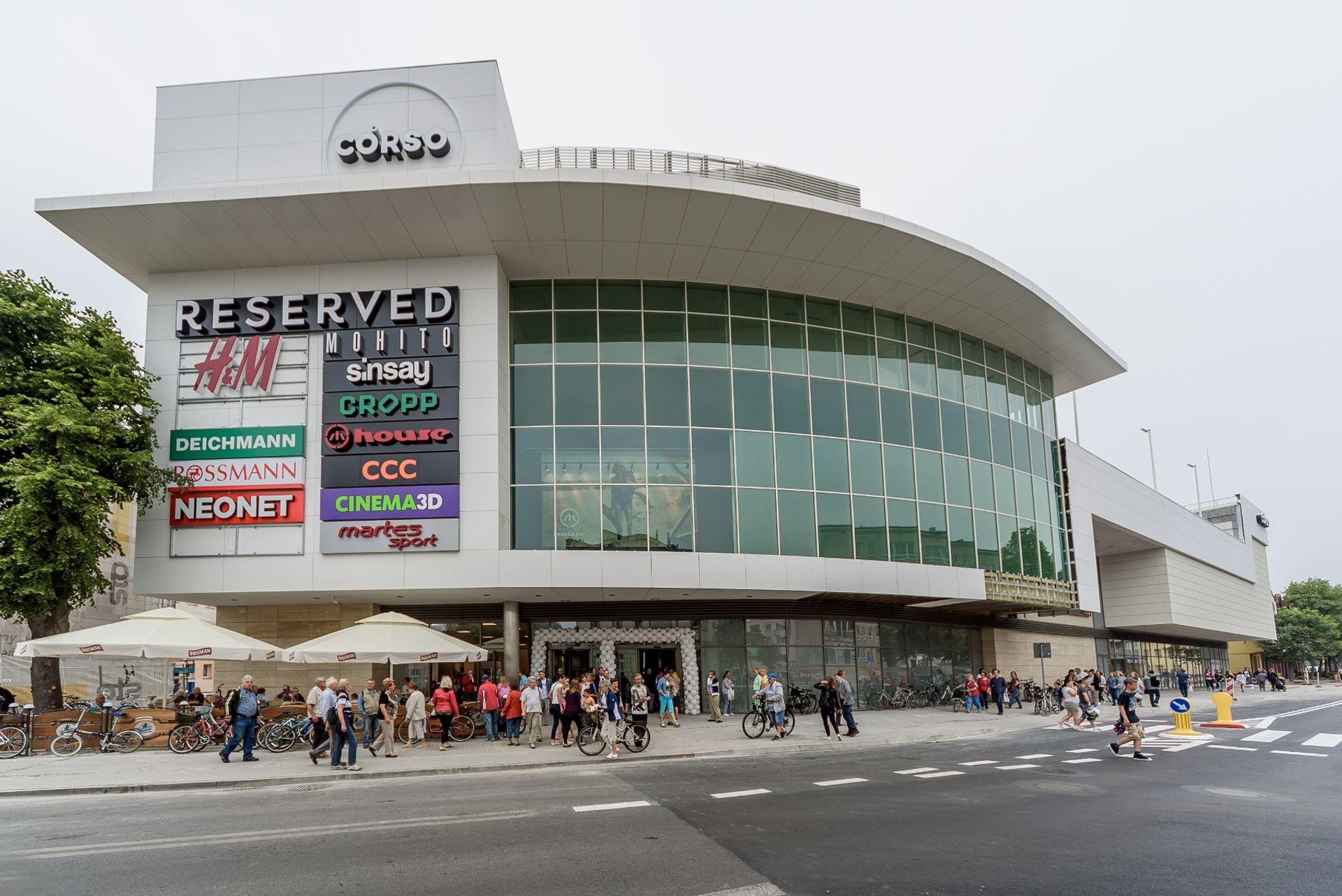 [zachodniopomorskie] Galeria Corso w Świnoujściu już otwarta