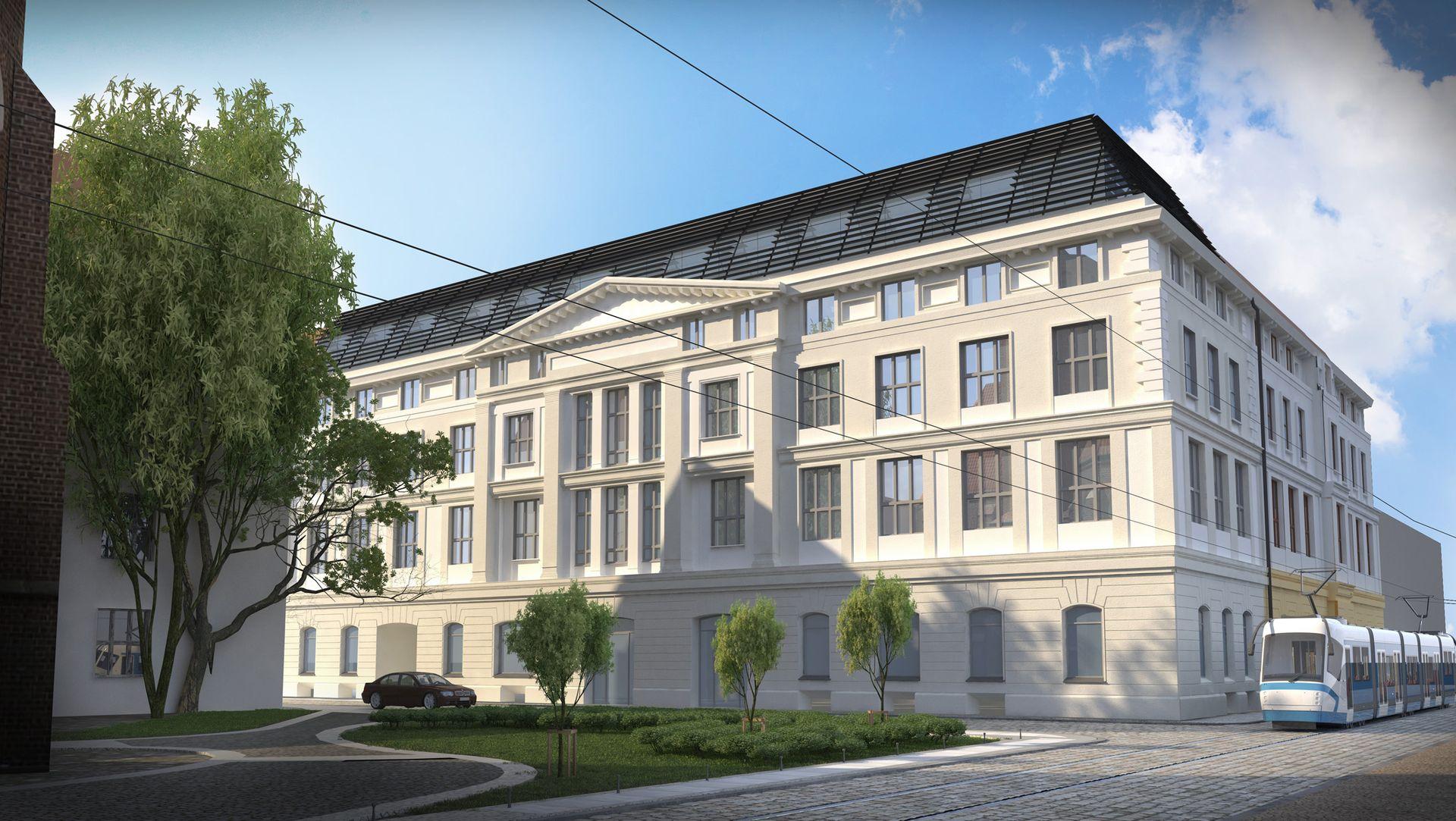 [Wrocław] Luksusowy hotel w zabytkowej Farmacji przy placu Nankiera [WIZUALIZACJE]