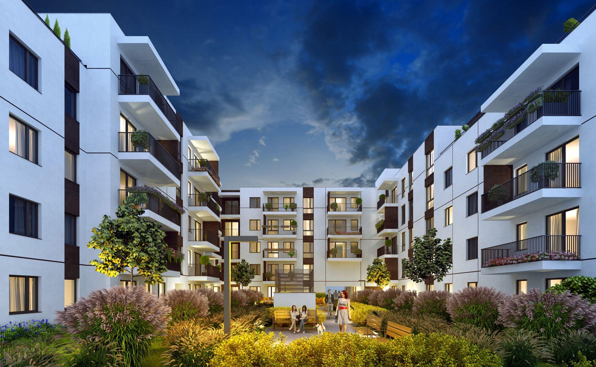 Warszawa: Aluzyjna 19 – SP Invest buduje ponad sto mieszkań na Białołęce