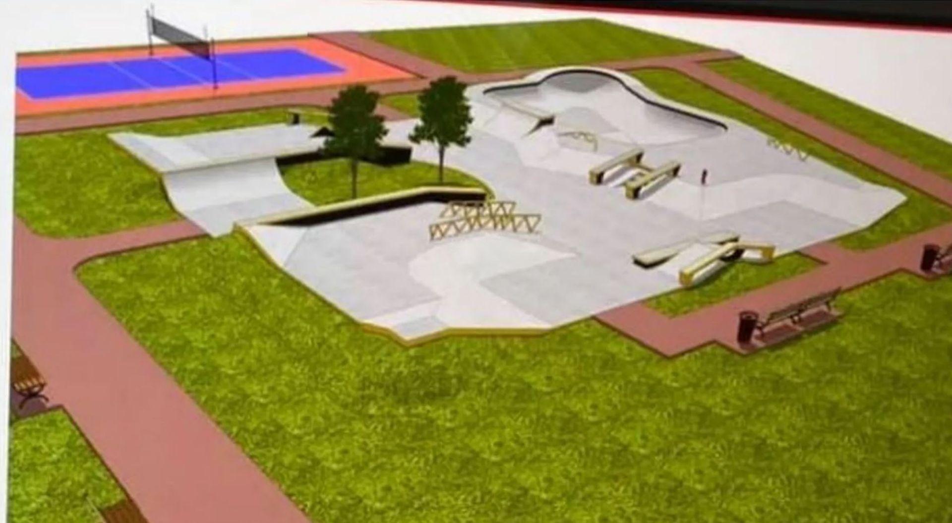 Wkrótce w centrum Wrocławia ruszy budowa nowego skateparku i boiska wielofunkcyjnego