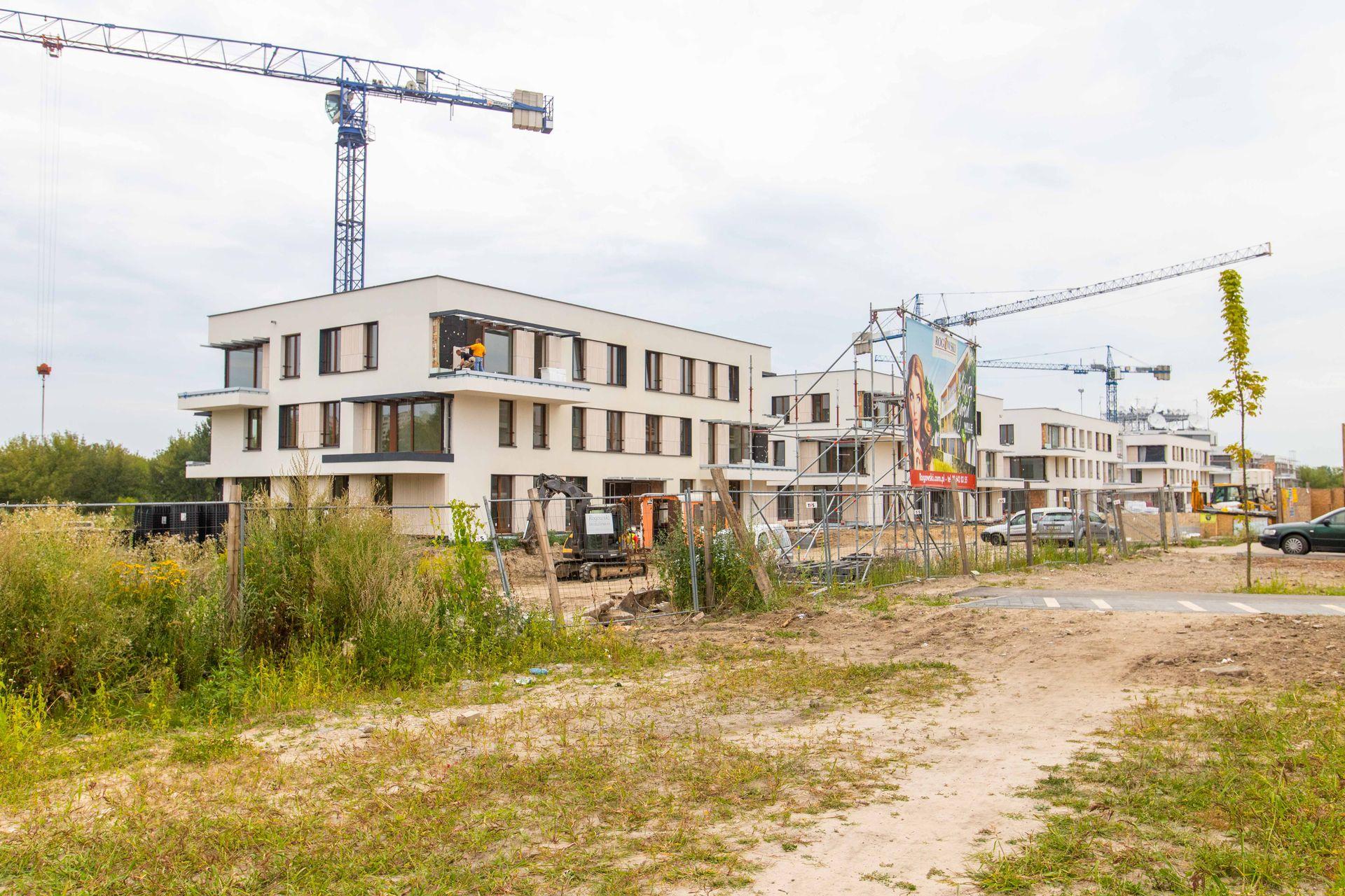 Warszawa: Wille Bergamotki – Rogowski Development buduje dwuetapowe osiedle na Mokotowie