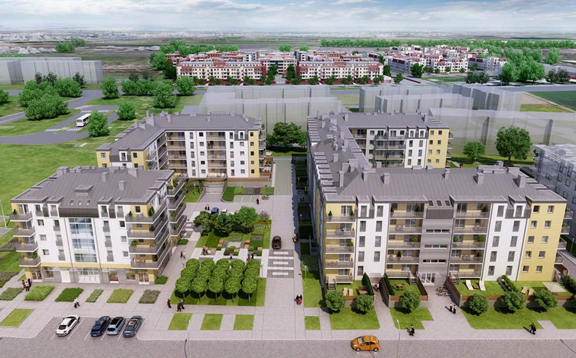[Wrocław] Archicom wprowadził do sprzedaży nowe etapy osiedli Słoneczne Stabłowice i Cztery Pory Roku