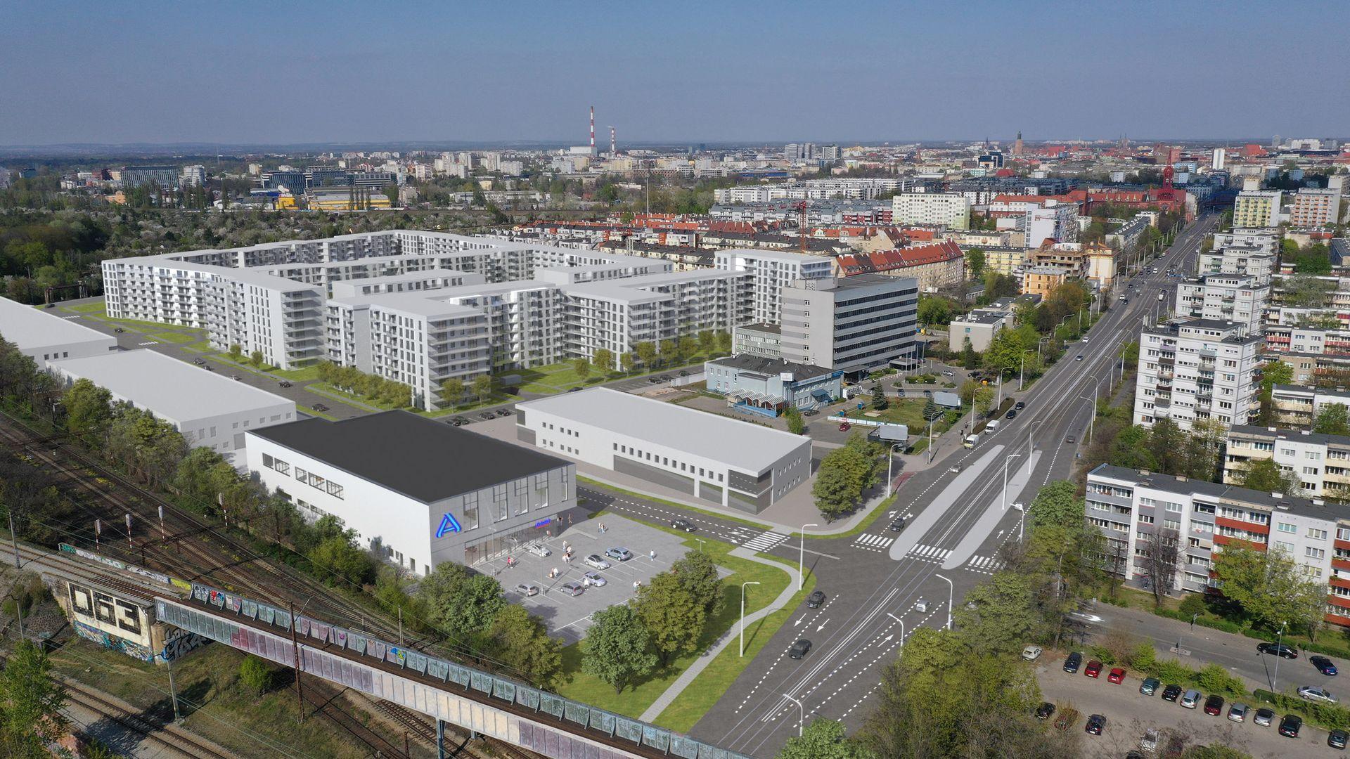 Wrocław: Aldi otworzy się wkrótce w sąsiedztwie dawnej Fadromy