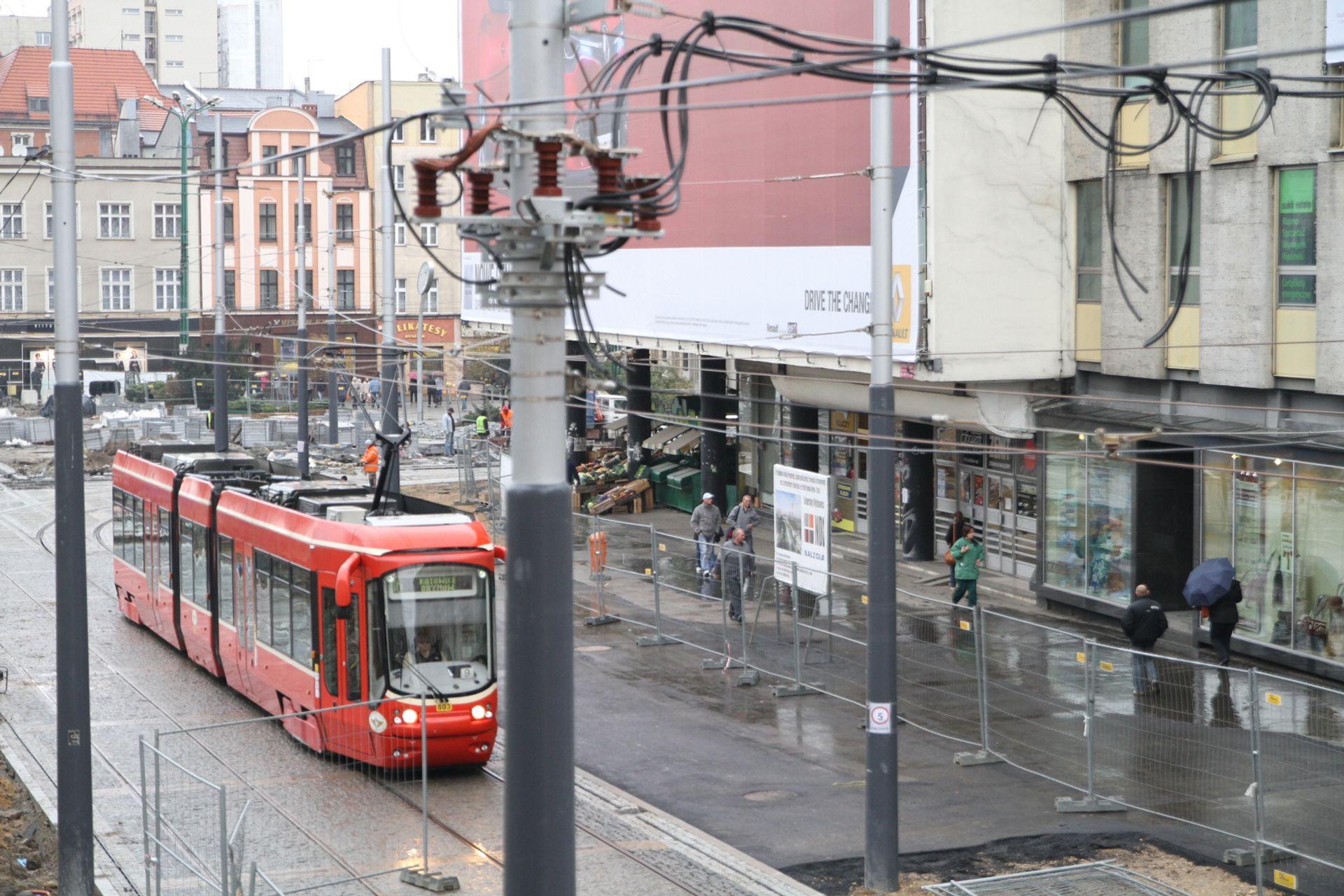 [Katowice] 4 dni bez tramwajów, później nowe przystanki i torowiska
