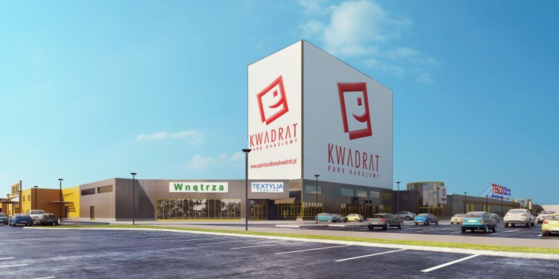 [Białystok] W Białymstoku powstaje największy obiekt handlowy – KWADRAT – łączący galerię z parkiem handlowym