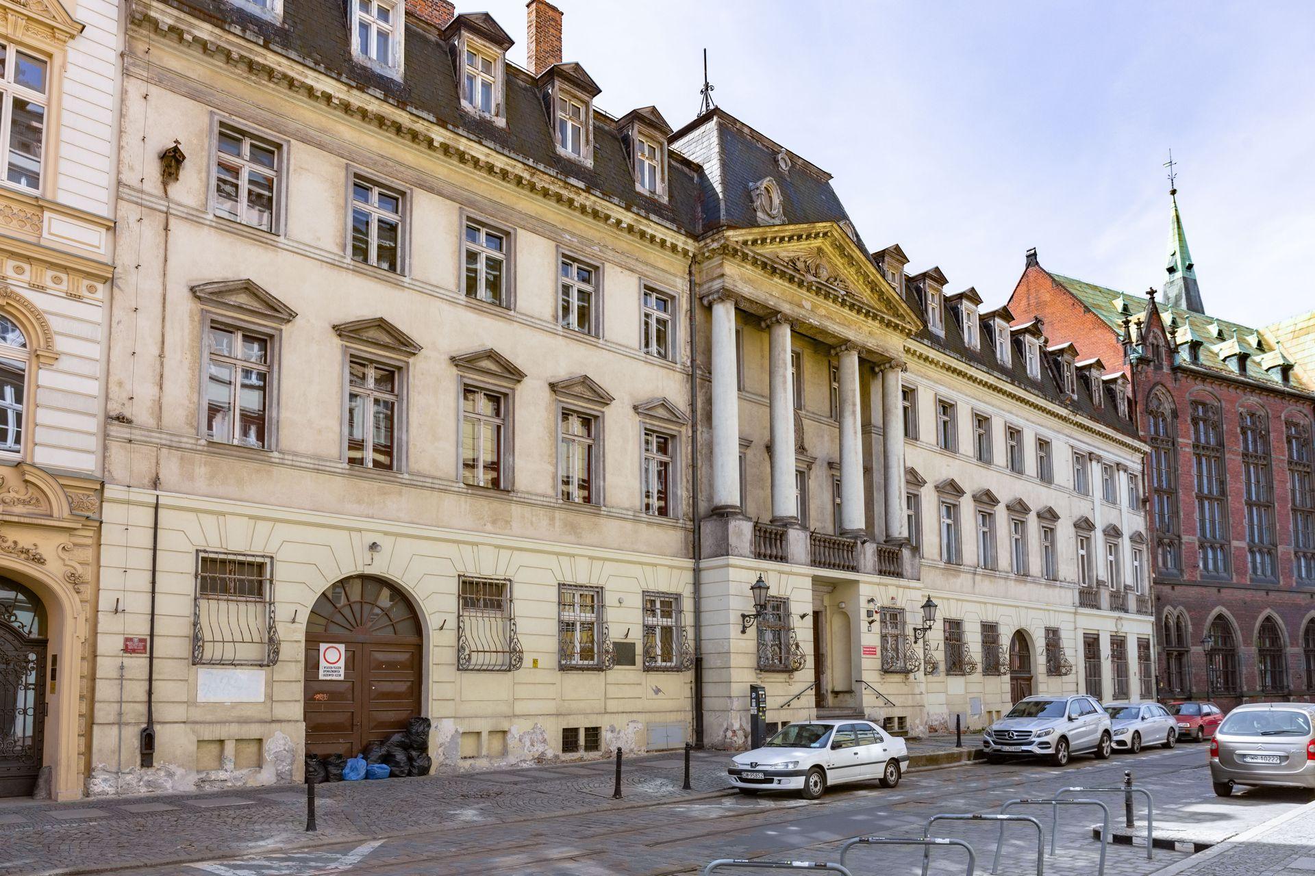 Wrocław: Zabytkowy pałac na Starym Mieście już z nowym właścicielem. Trwają prace projektowe