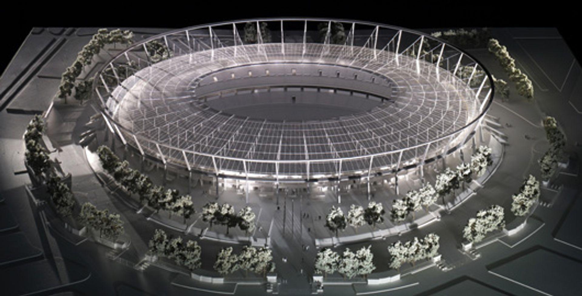 [śląskie] Stadion Śląski w Chorzowie: po Big Lift czas na pokrycie dachu