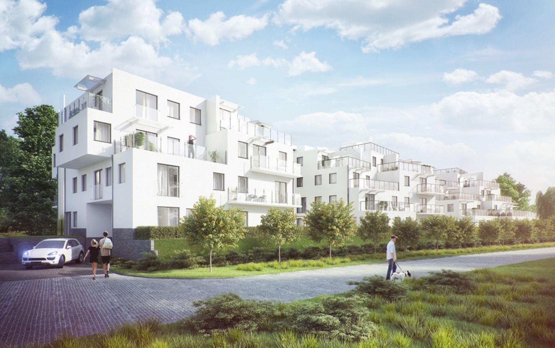 [Wrocław] Złotniki Plus. Na zachodzie Wrocławia stanie nowe osiedle [WIZUALIZACJE]