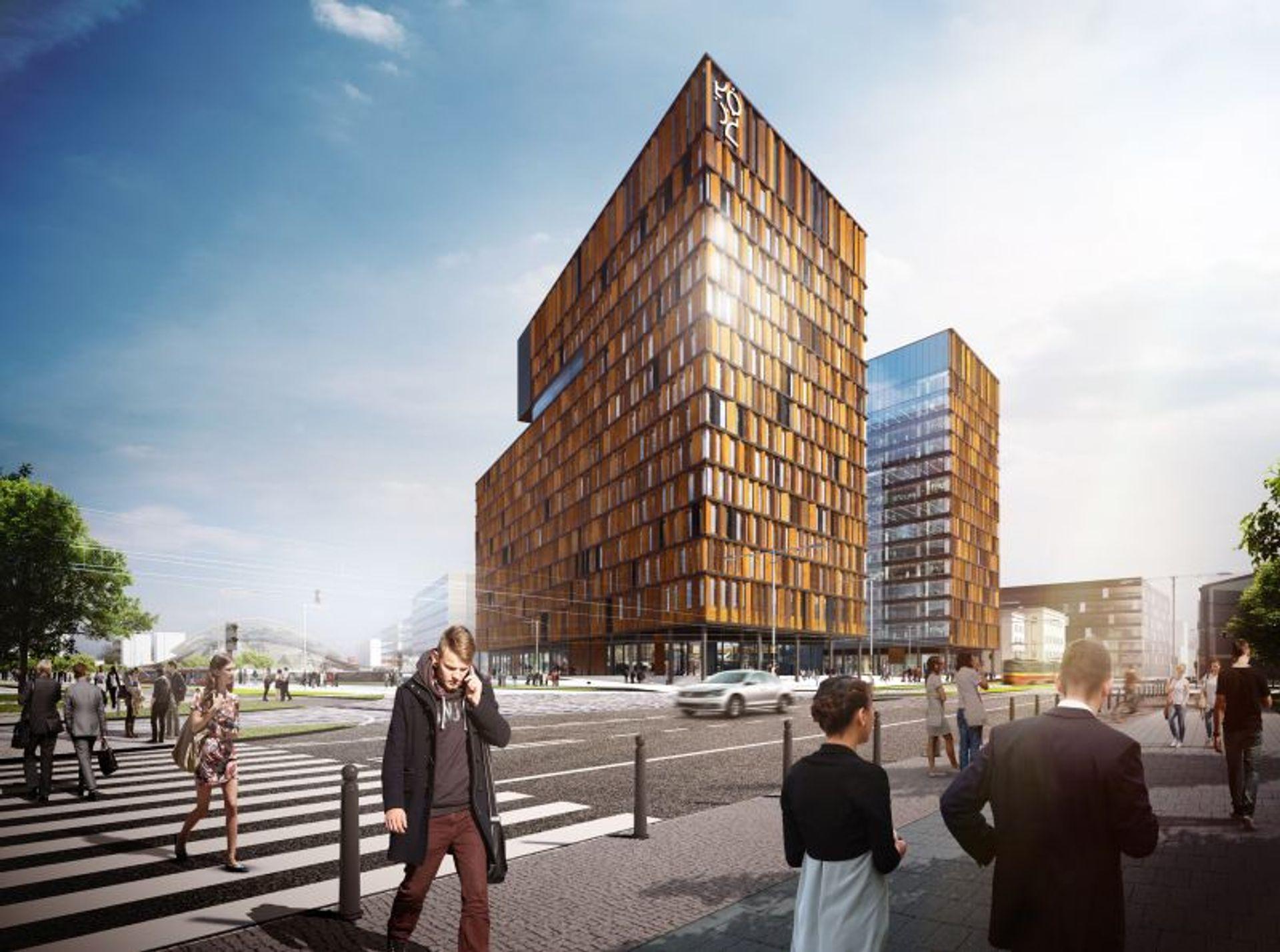 [Łódź] Nowe Centrum Łodzi przyśpiesza.  Tak będzie wyglądać Brama Miasta [WIZUALIZACJE]