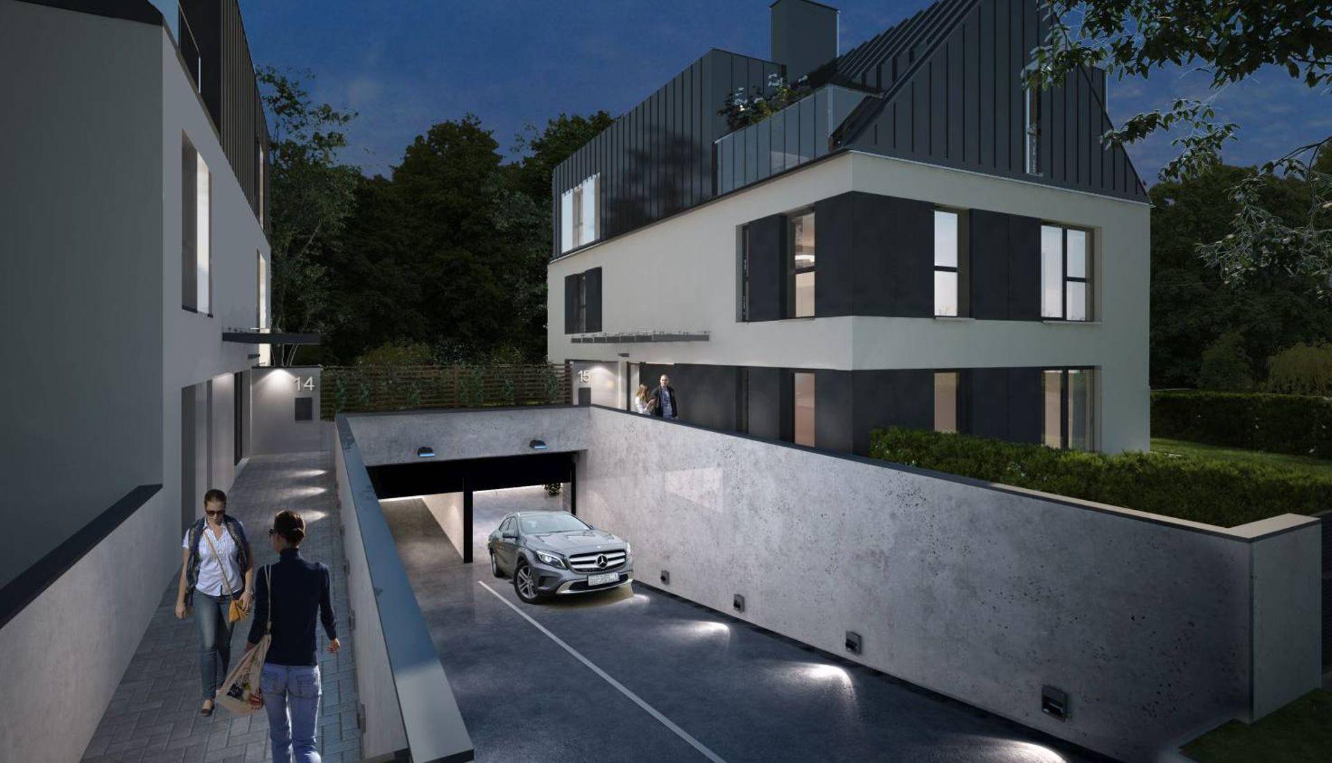 Wrocław: Mirror House – G2 buduje na Złotnikach bliźniacze wille miejskie