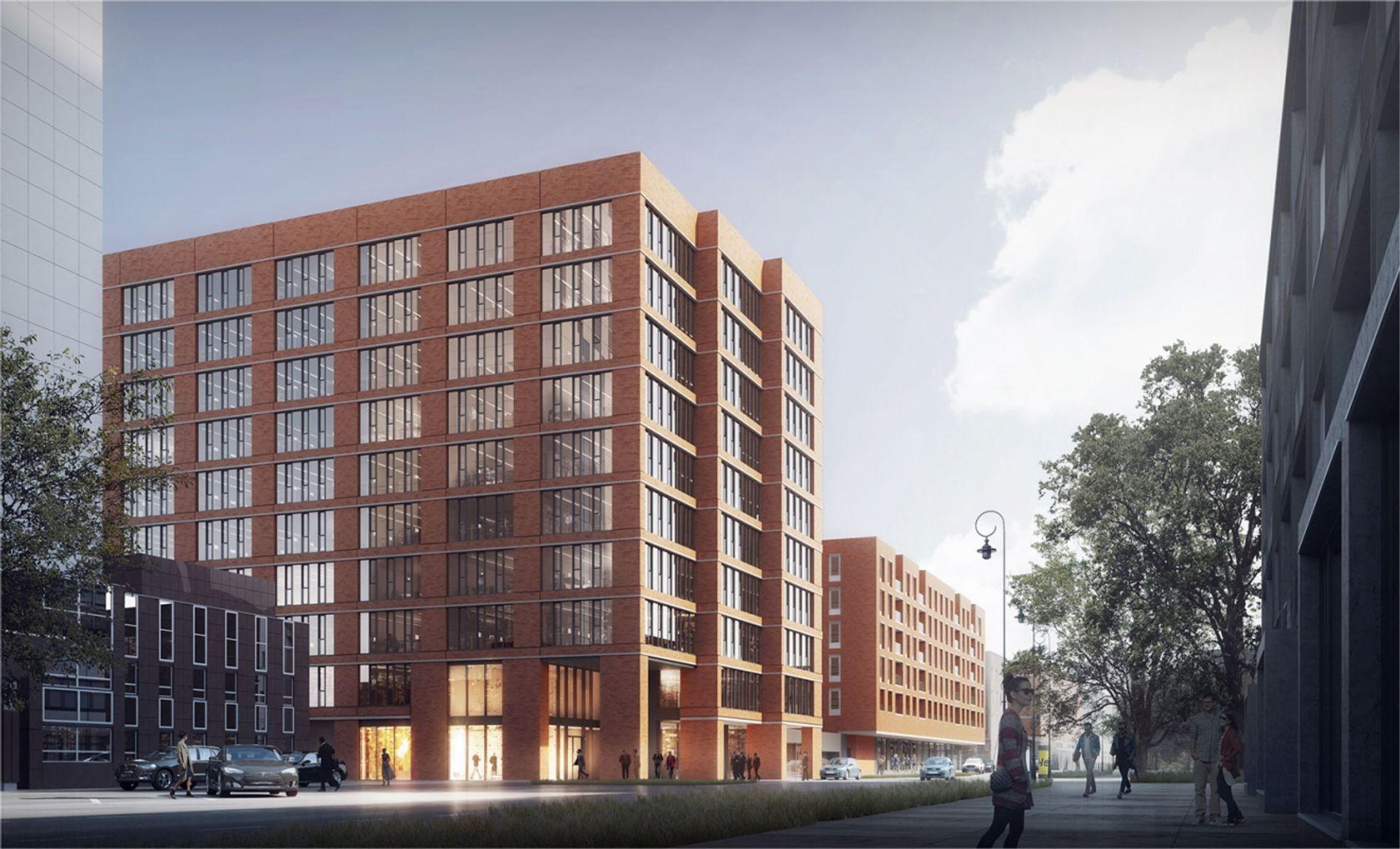 [Gdańsk] Rajska 8: rozpoczęcie budowy – inwestor zawarł umowę z Budimex S.A. na realizację apartamentowca i biurowca