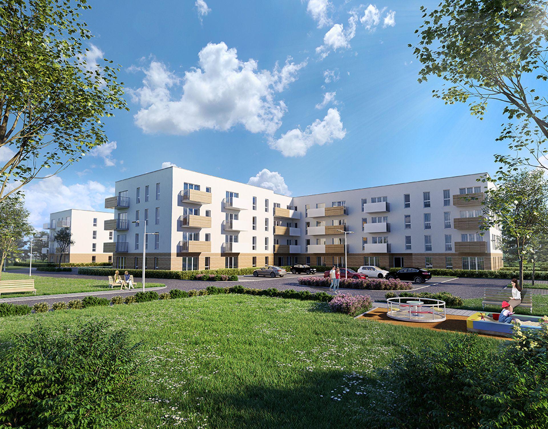 Wrocław: Murapol rusza ze sprzedażą Zielonych Bulwarów na Klecinie. Zaczyna od ponad 100 mieszkań