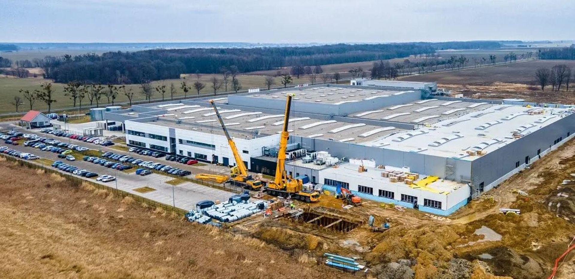 Dolny Śląsk: Niemiecka firma Eberspächer rozbudowała po raz kolejny fabrykę pod Oławą