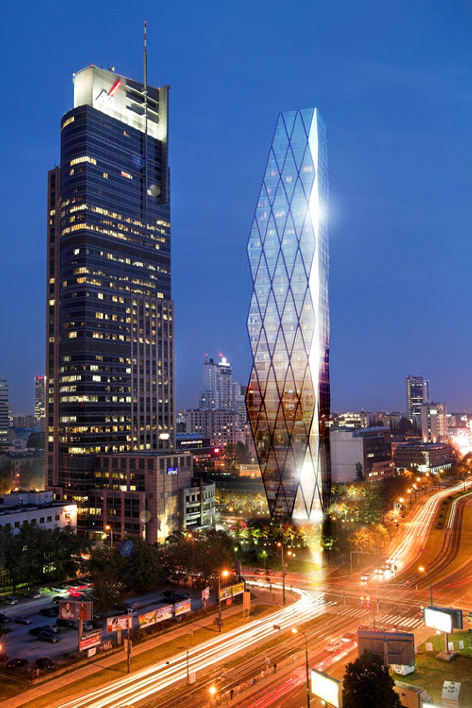 Warszawa: Wola Tower – nowa wieża ma dorównywać wysokością Warsaw Trade Tower [WIZUALIZACJA]