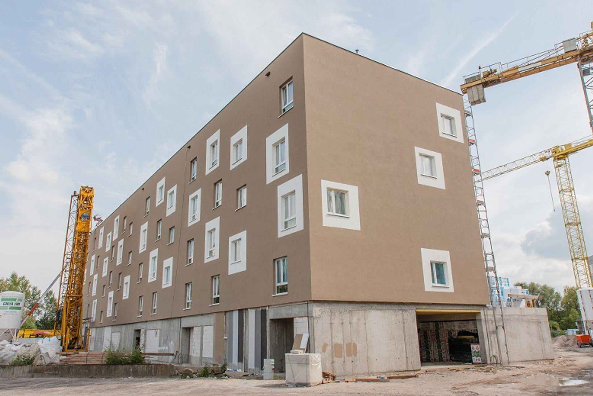 [Wrocław] Bez opóźnień na placu budowy osiedla Nowy Port