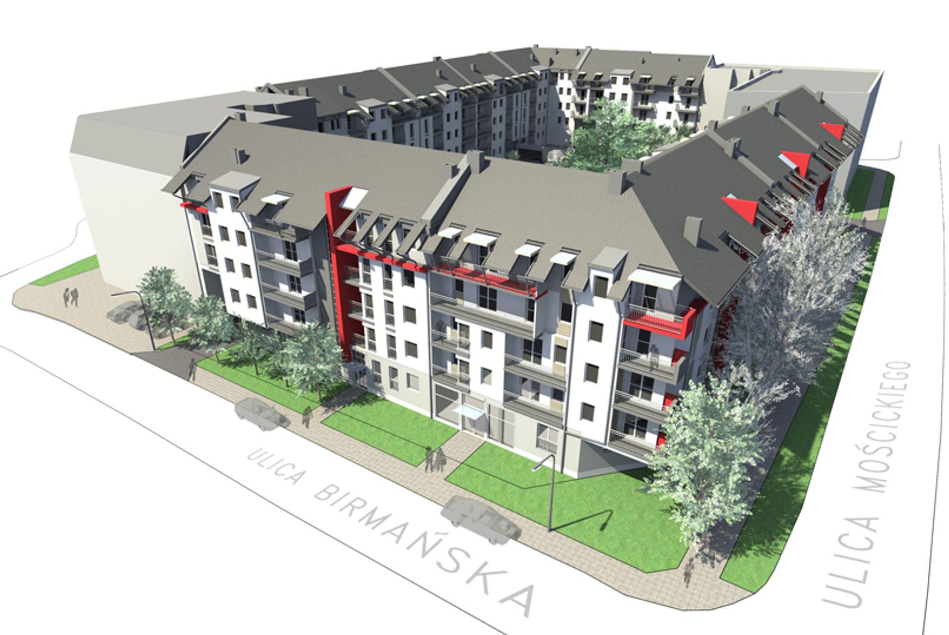 [Wrocław] Bank Gospodarstwa Krajowego udzielił kredytu TBS Wrocław na dokończenie budowy osiedla na Brochowie