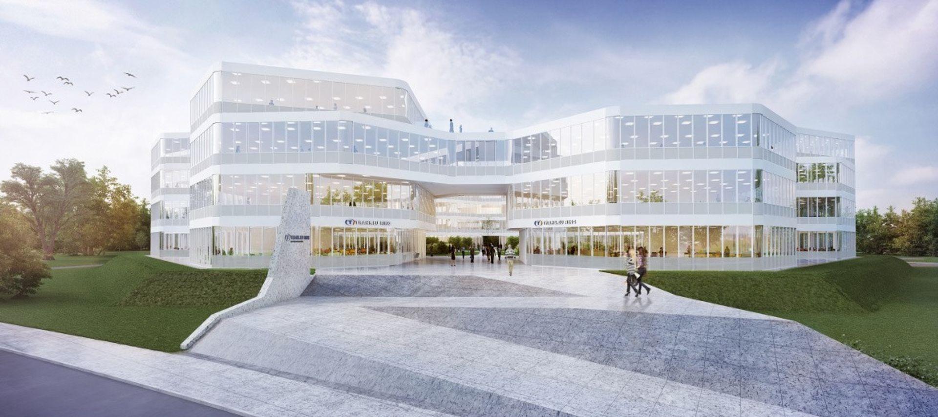 Budowa dużego kompleksu biurowego na Oporowie coraz bliżej