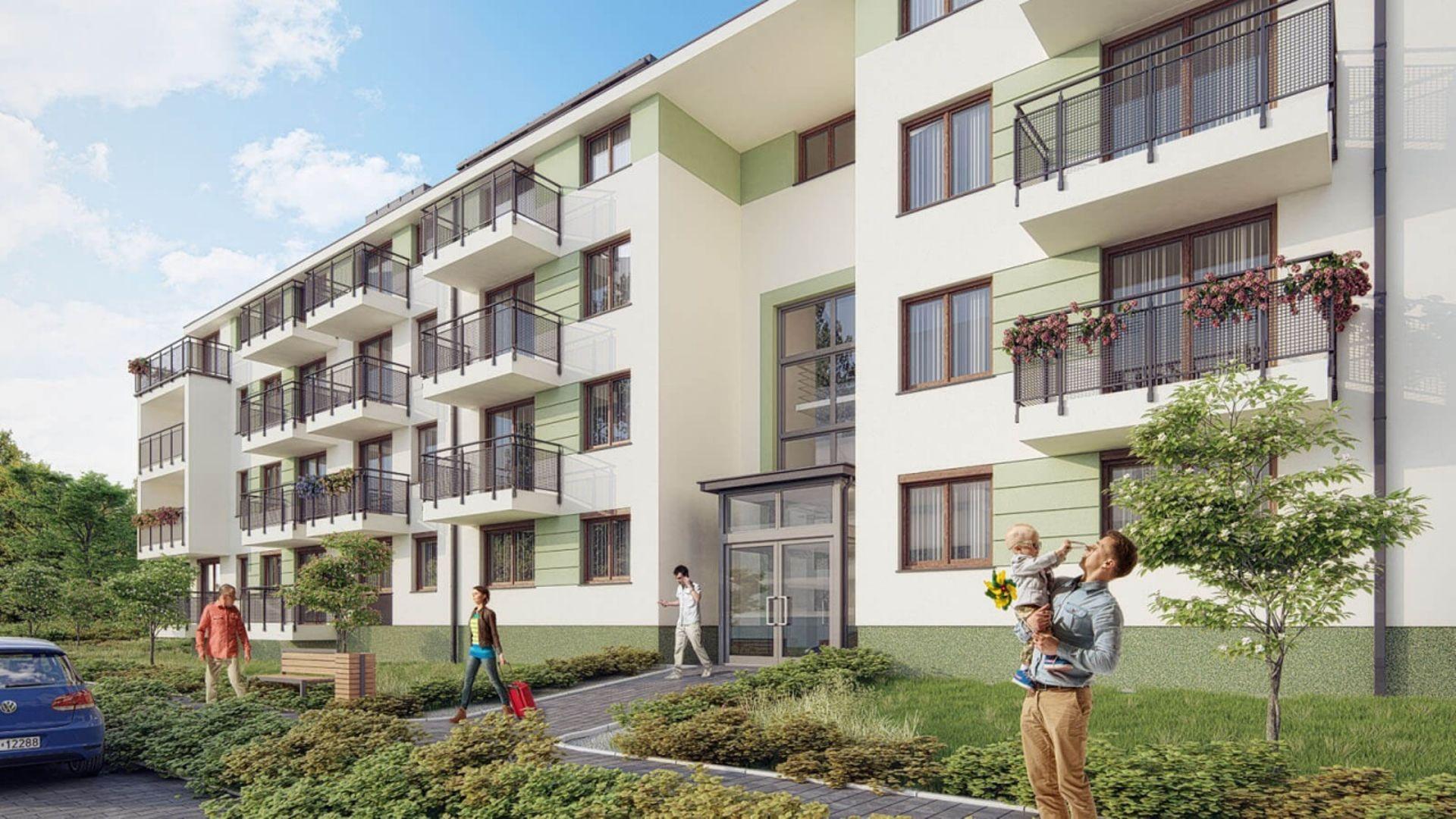Kolejne mieszkania Słonecznego Miasteczka w Krakowie w sprzedaży