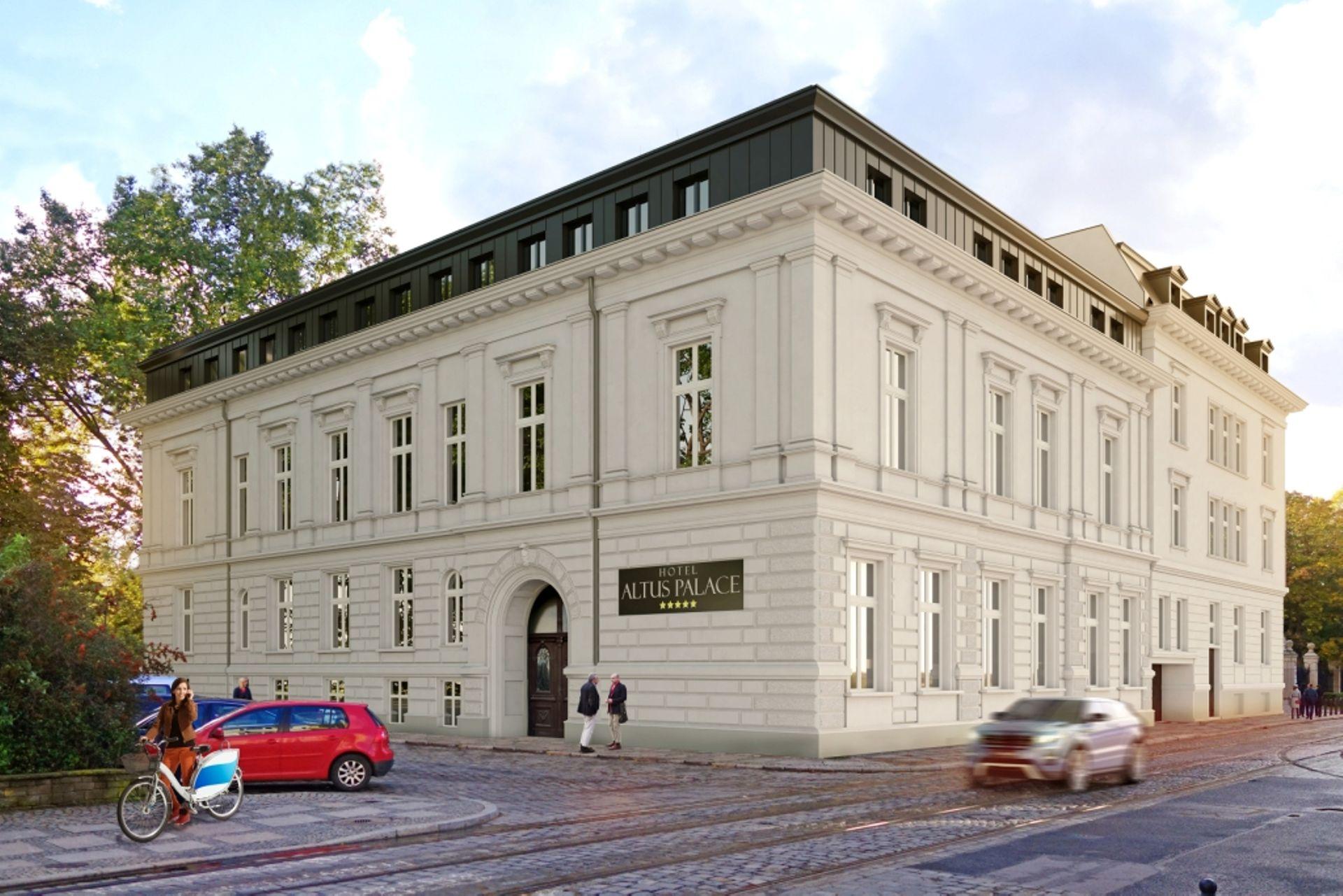 Wrocław: Zabytkowy Pałac Leipzigera zamieni się w pięciogwiazdkowy hotel Altus Palace [FILM + ZDJĘCIA]