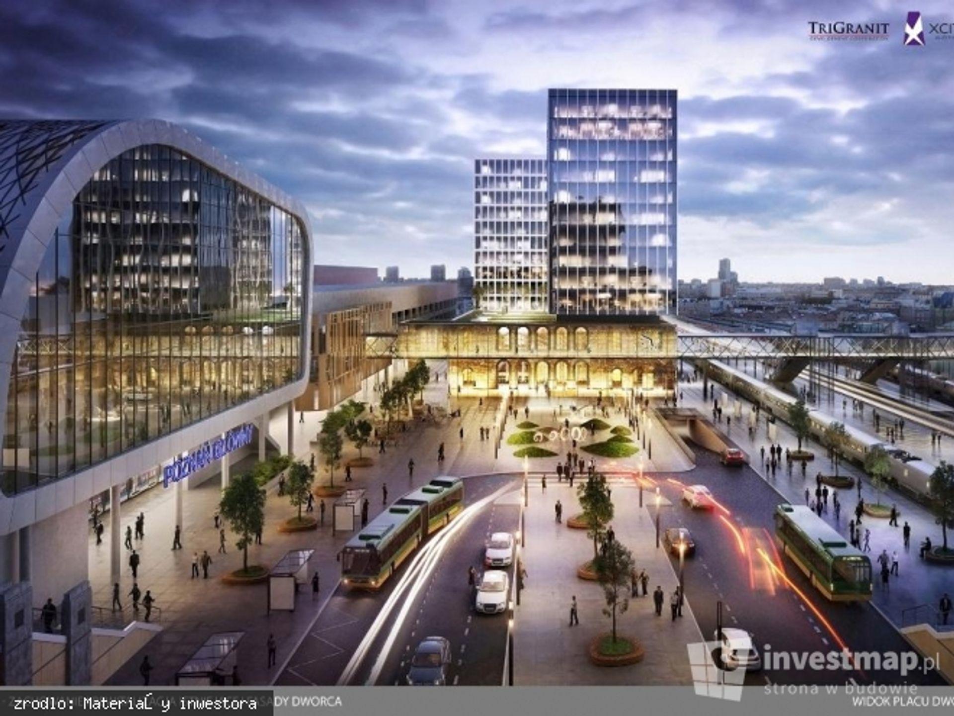 [Poznań] Nowe oblicze Poznań City Center – rozpoczęła się przebudowa Centrum