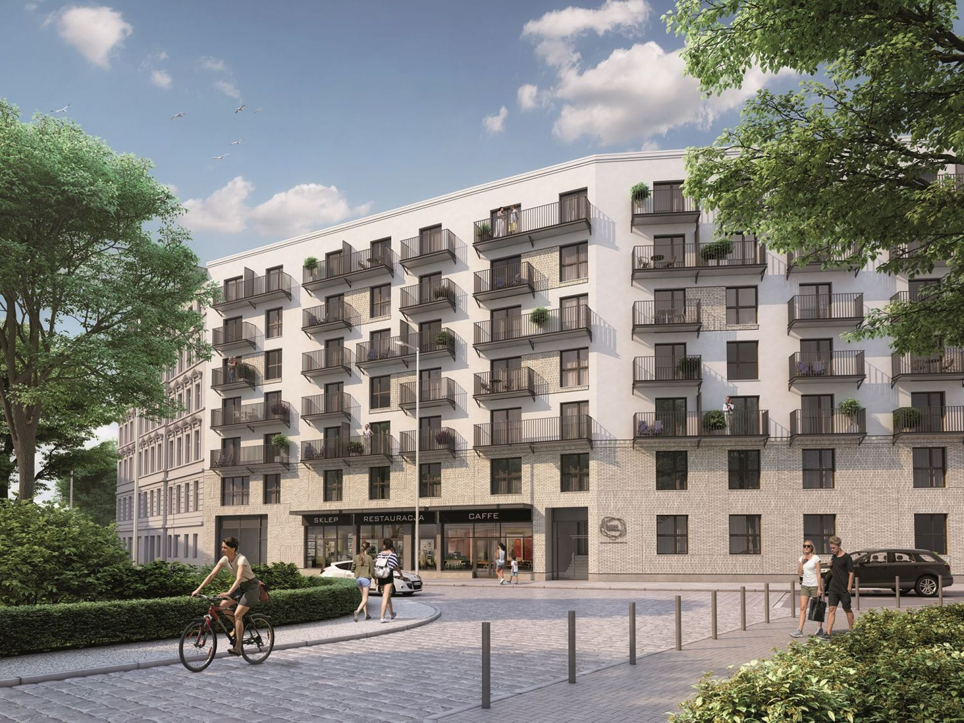 Wrocław: Dom na Kurkowej – Dom Development stawia blok w miejscu zburzonej kamienicy na Nadodrzu