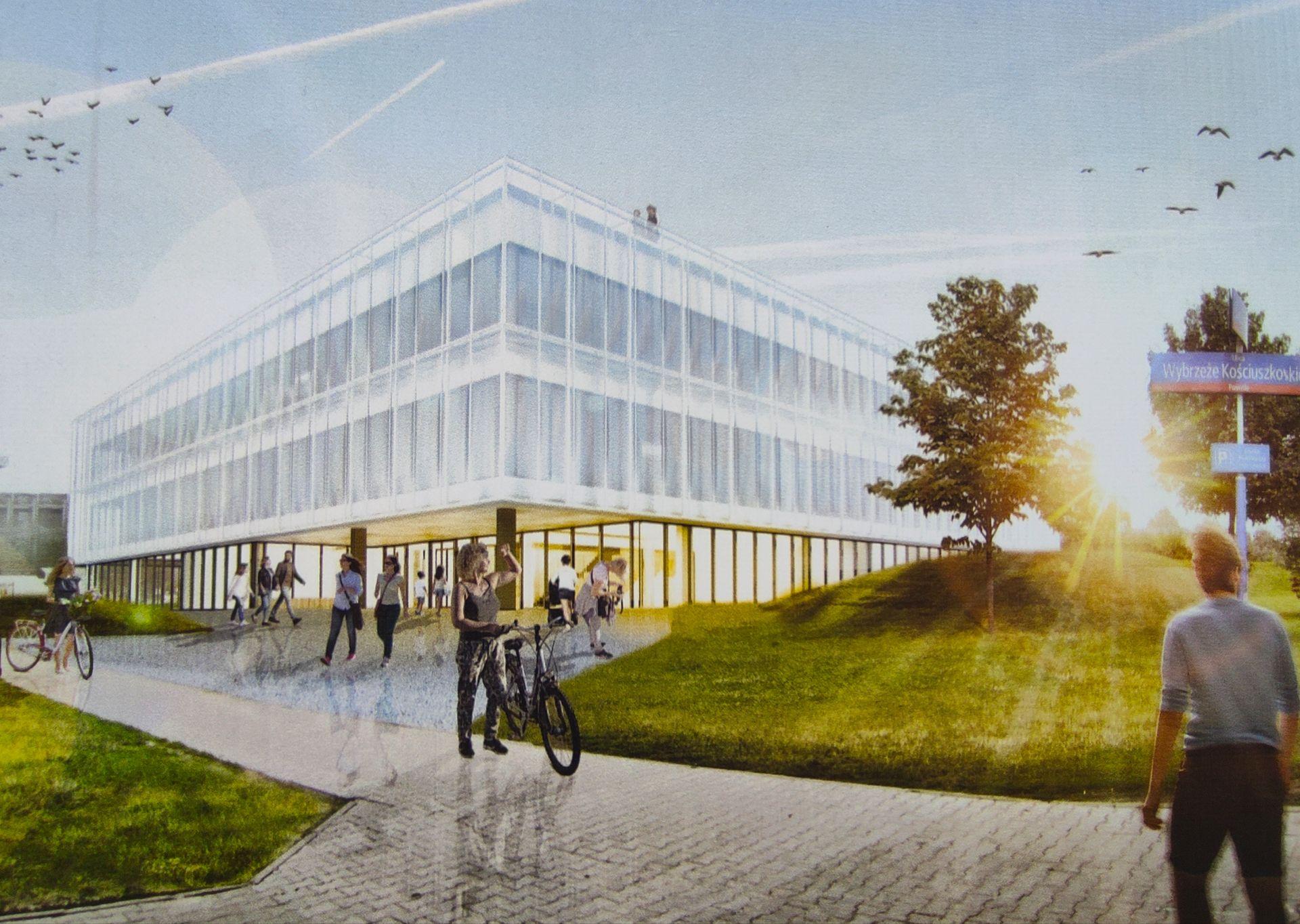 W Warszawie trwa rozbudowa Centrum Nauki Kopernik