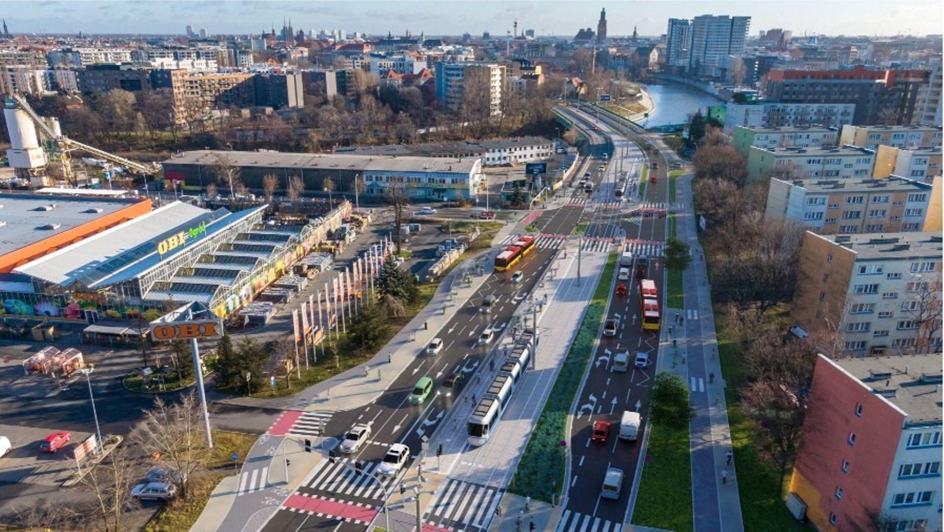 Wrocław: Ruszy budowa kolejnego etapu trasy tramwajowej przez Popowice. Jest wykonawca tej wielomilionowej inwestycji [FILM]
