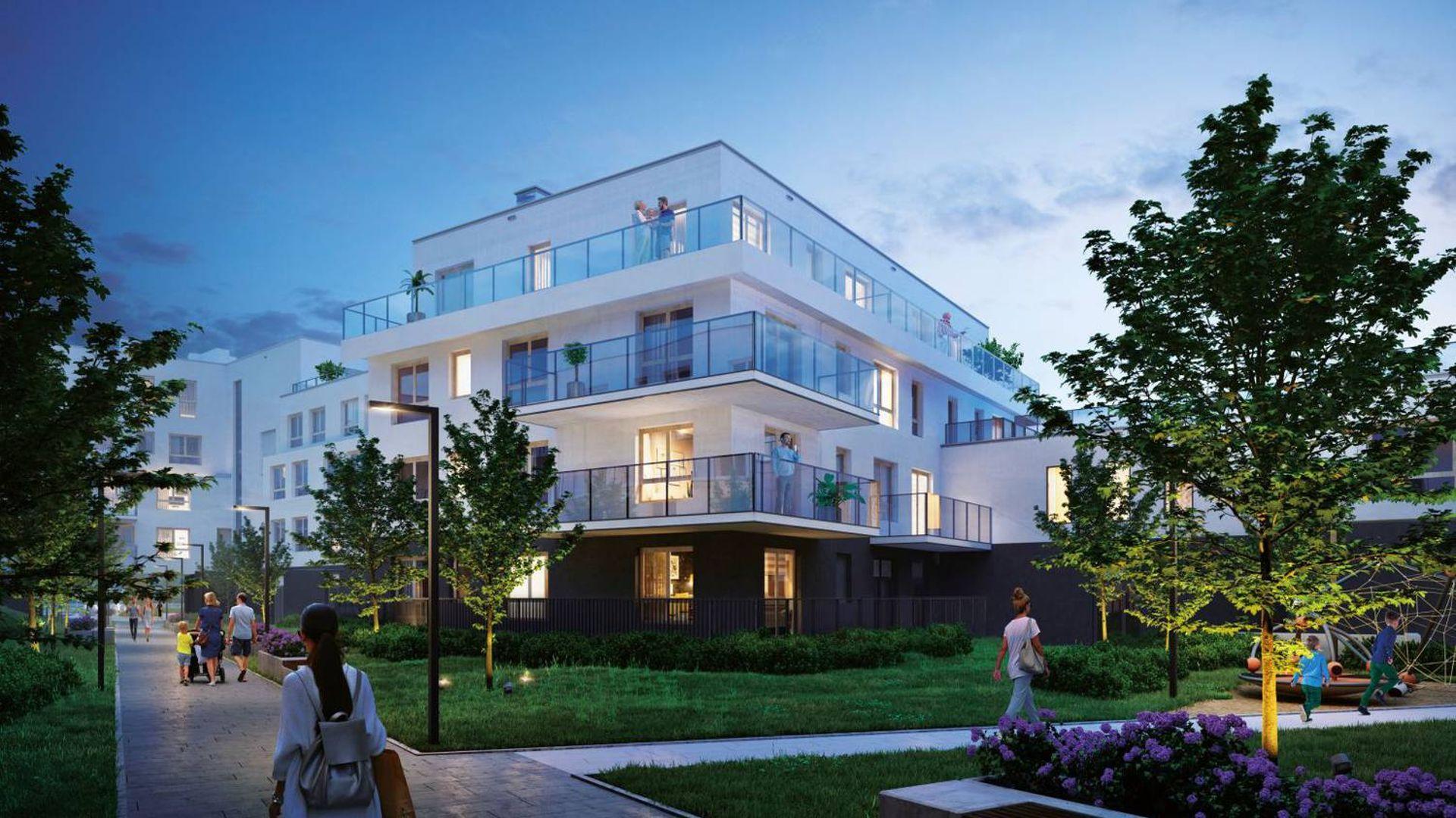 Warszawa: Apartamenty Królewskie – Robyg inwestuje na Błoniach Wilanowskich [WIZUALIZACJA]