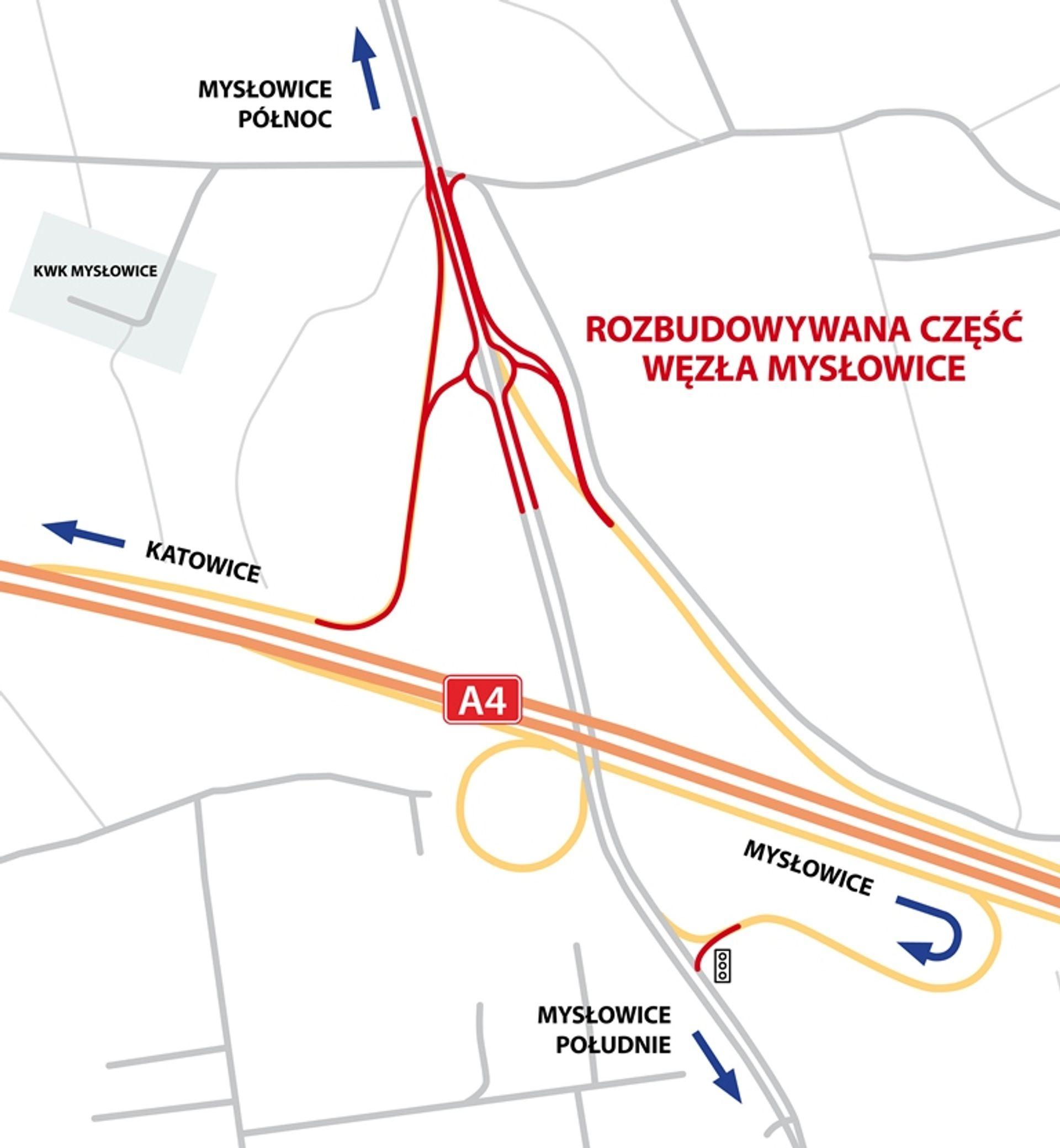 [śląskie] Rusza rozbudowa Węzła Mysłowice na A4 Katowice-Kraków