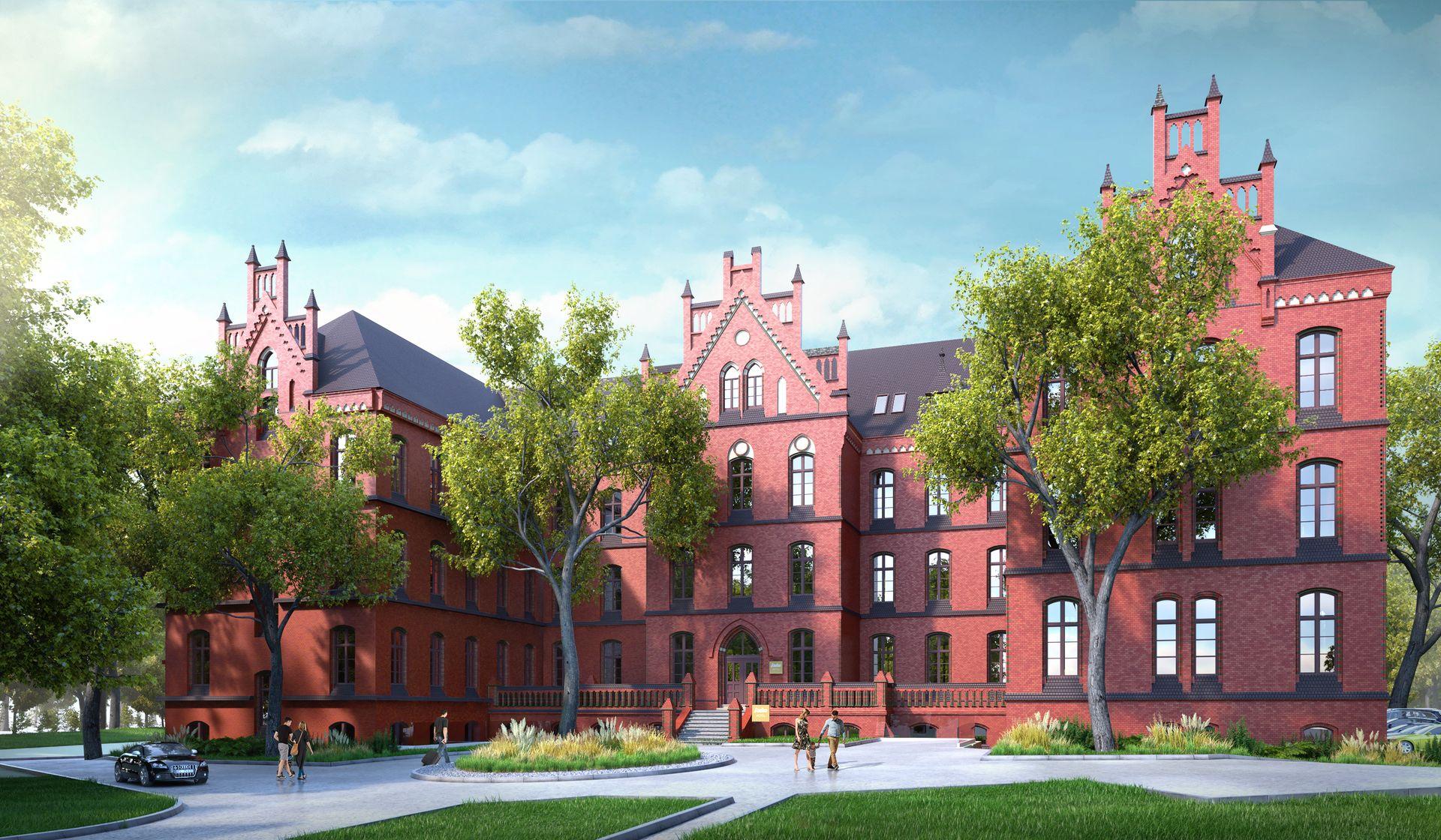 [Wrocław] W dawnym szpitalu dziecięcym powstanie hotel. Tak będzie wyglądał [WIZUALIZACJA]