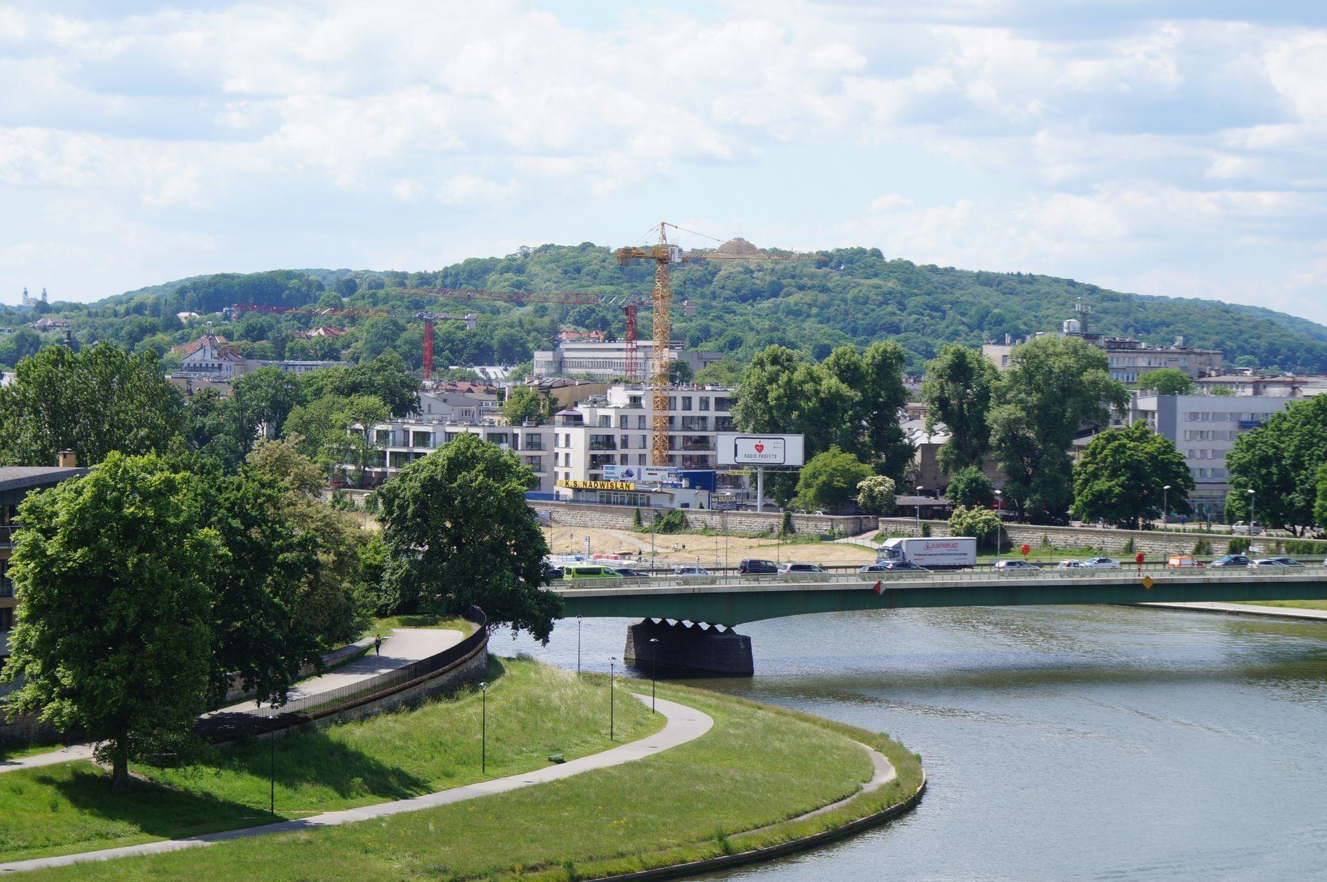 Kraków: Samobójca wszedł na żurawia
