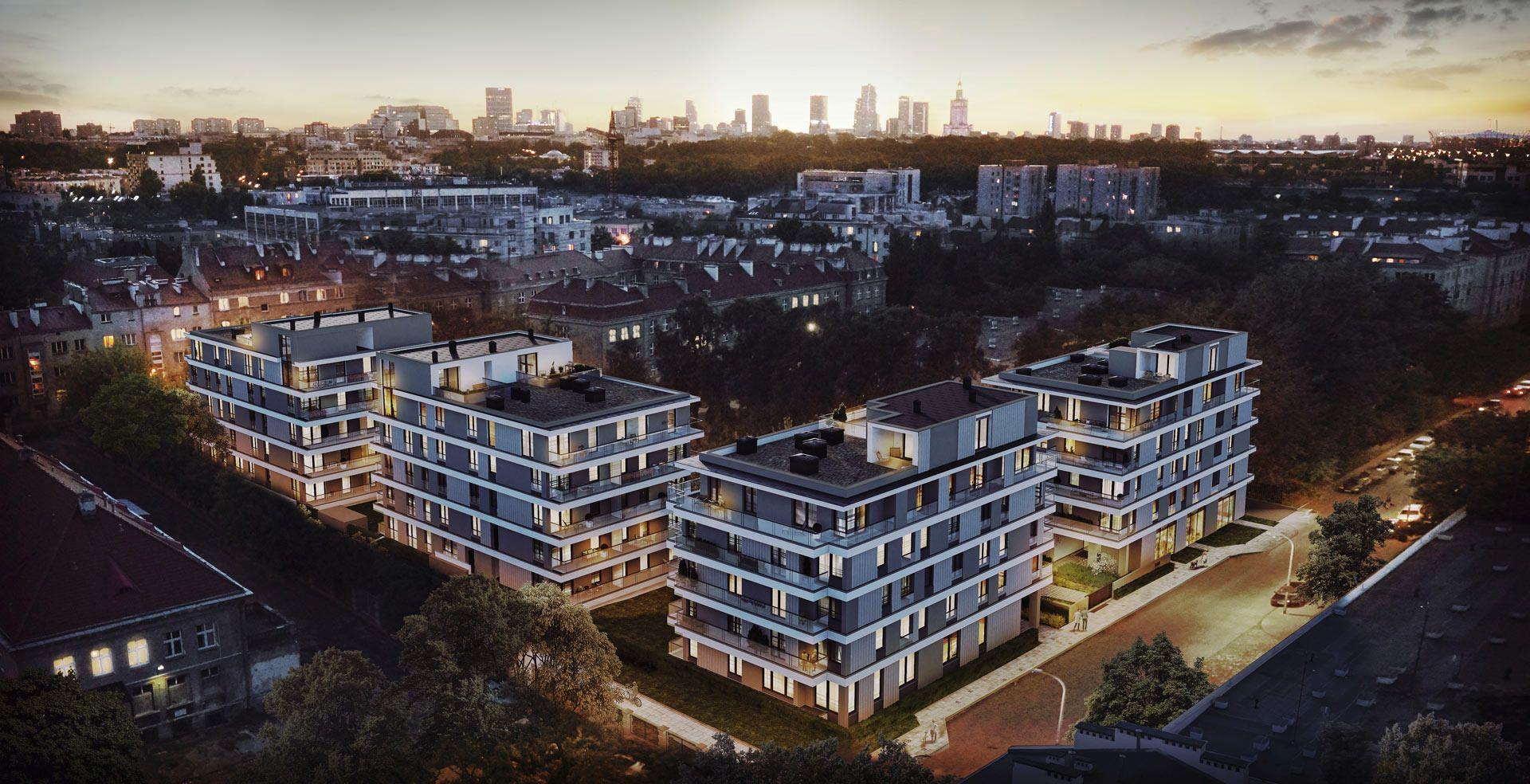 Warszawa: Na budowie Rezydencji Iwicka zawisła wiecha