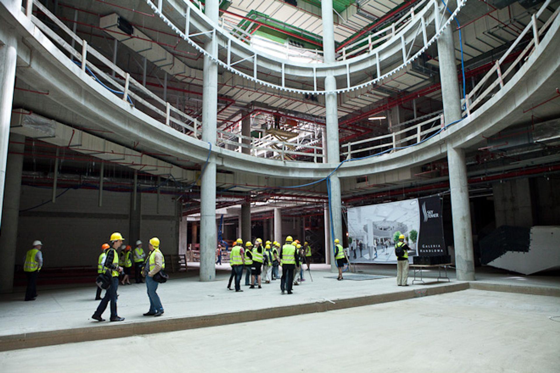 [Wrocław] Galeria w Sky Tower prawie gotowa. Zakupy zrobimy tu już 24 maja
