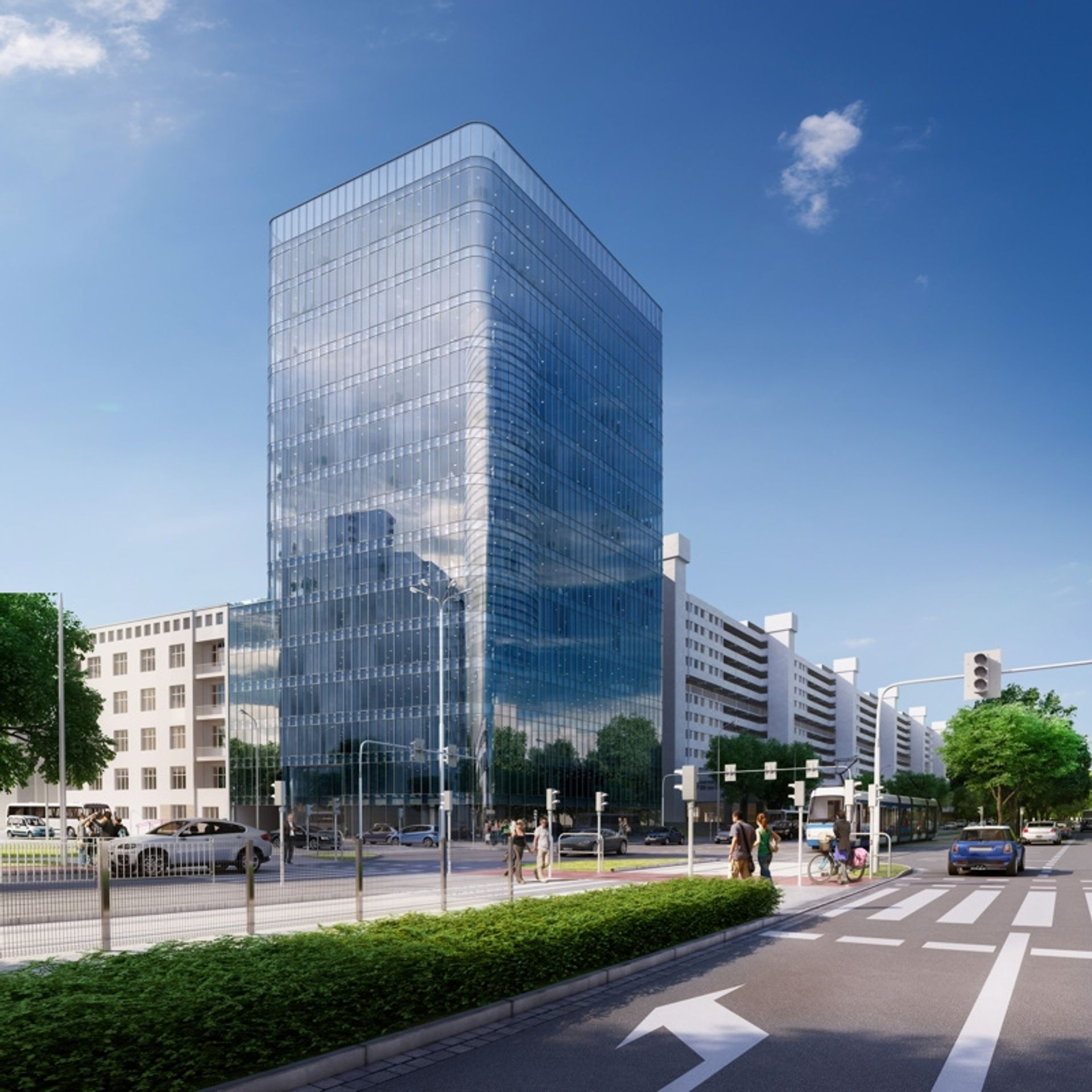 [Wrocław] I2 Development ma finansowanie budowy biurowca Wielka 27