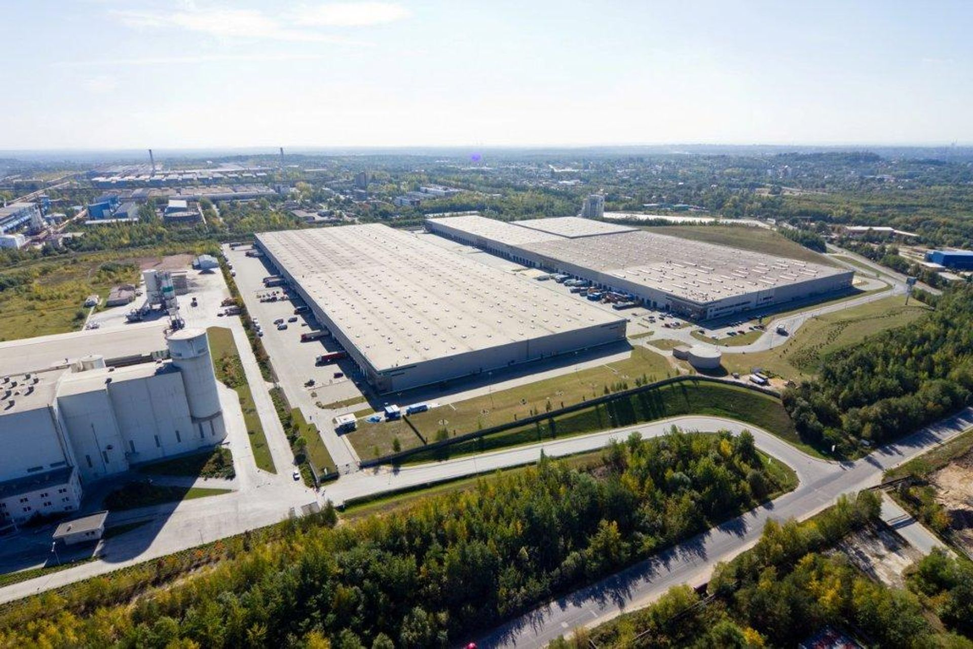 [śląskie] DHL zwiększa powierzchnię w Prologis Park Dąbrowa do 44 600 m²