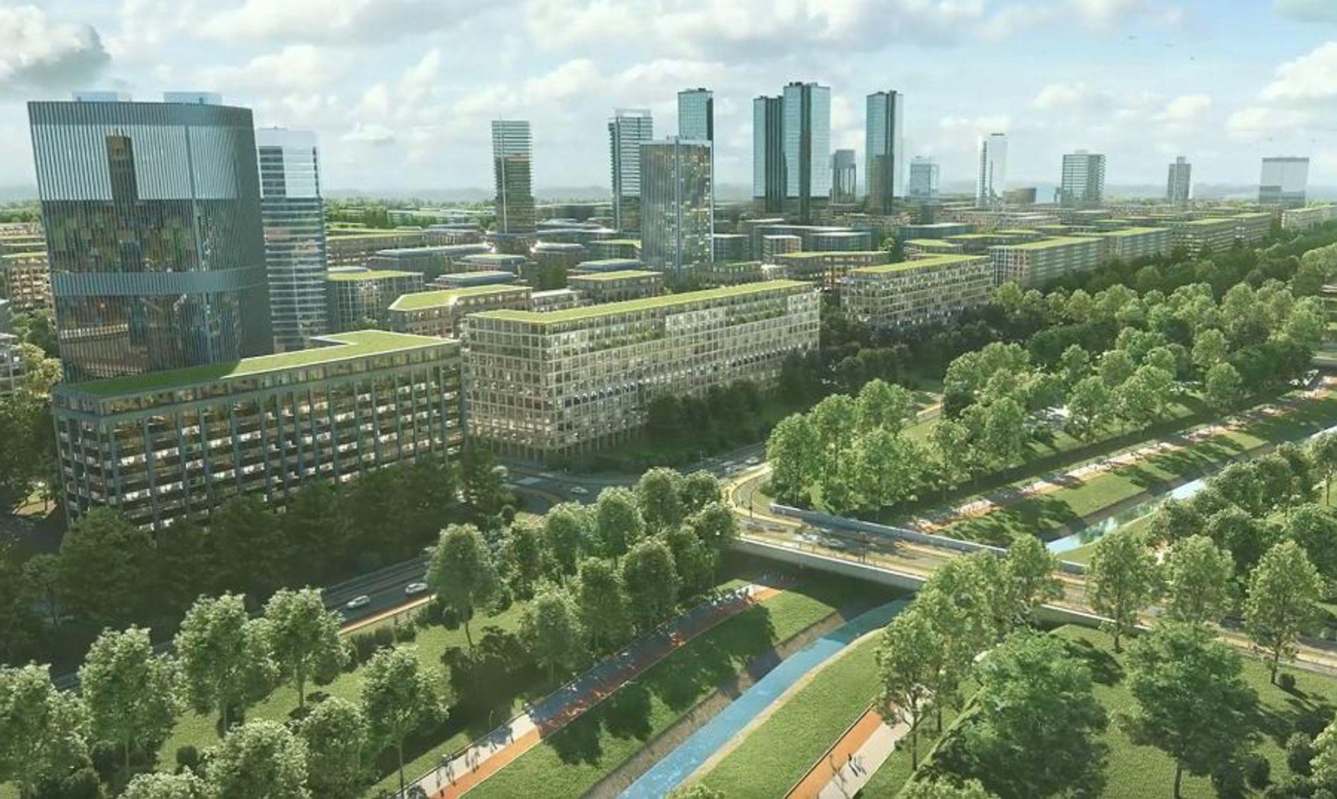 W Krakowie ma powstać nowa dzielnica pełna wieżowców